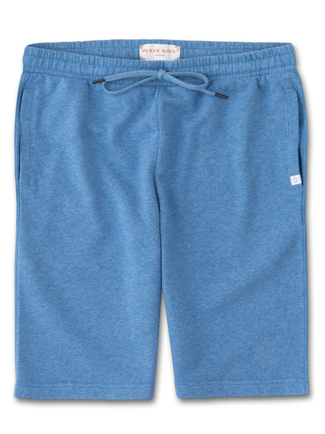 Men's Sweat Shorts Devon 2 Loopback Cotton Blue