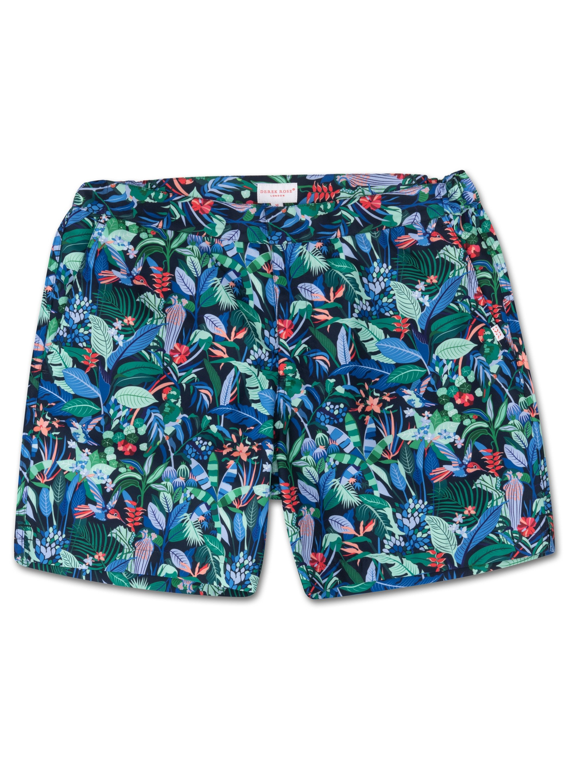 Men's Modern Fit Swim Shorts Maui 15 Navy