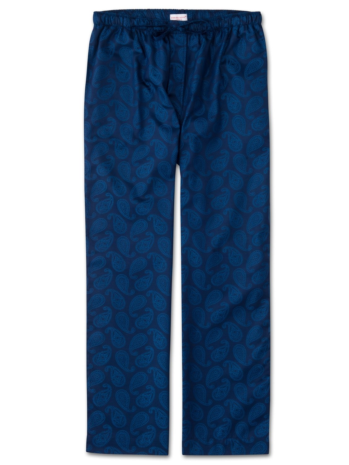 Men's Lounge Trousers Paris 13 Cotton Jacquard Navy