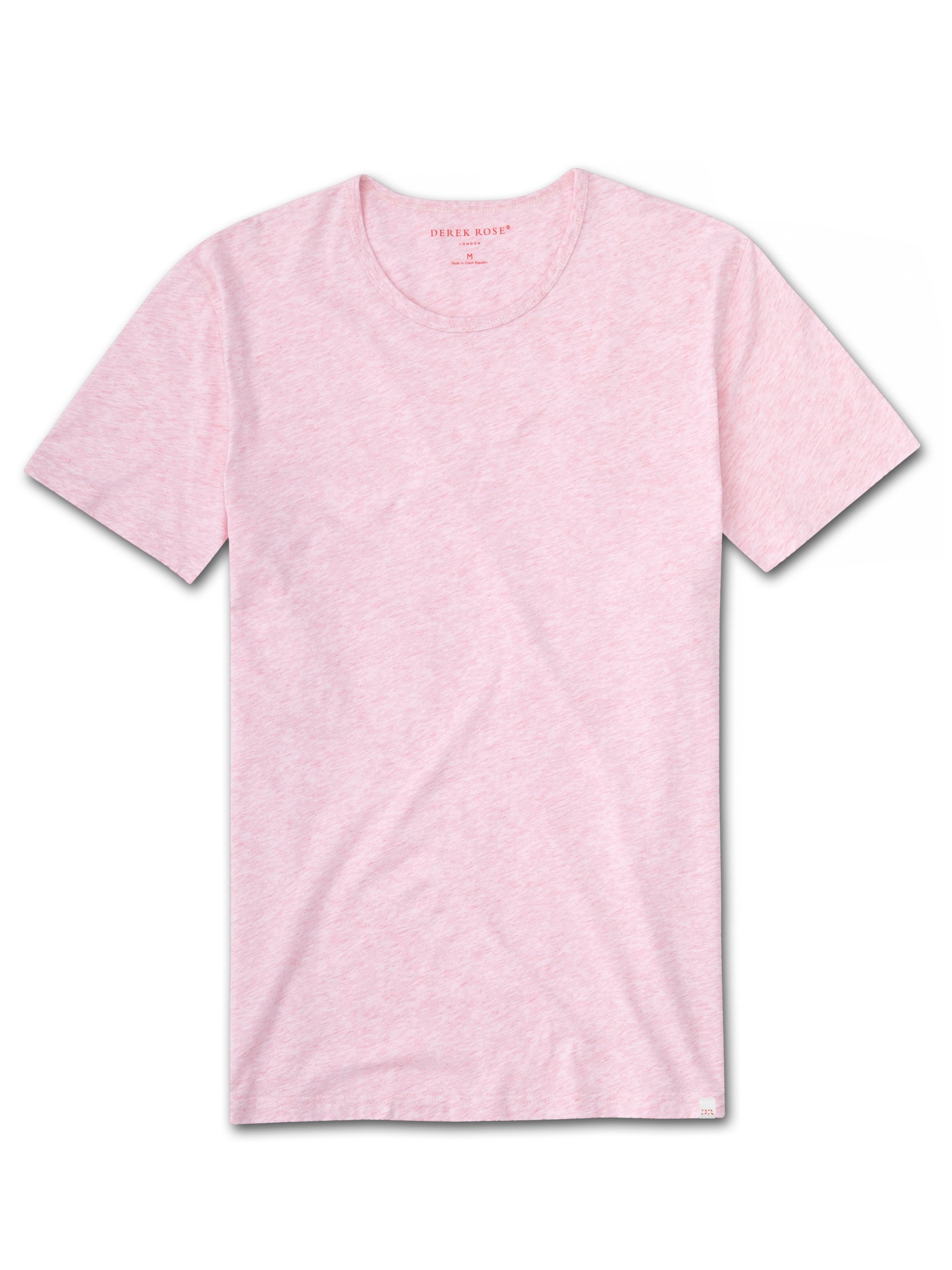 Men's Short Sleeve T-Shirt Reece Pure Cotton Pink