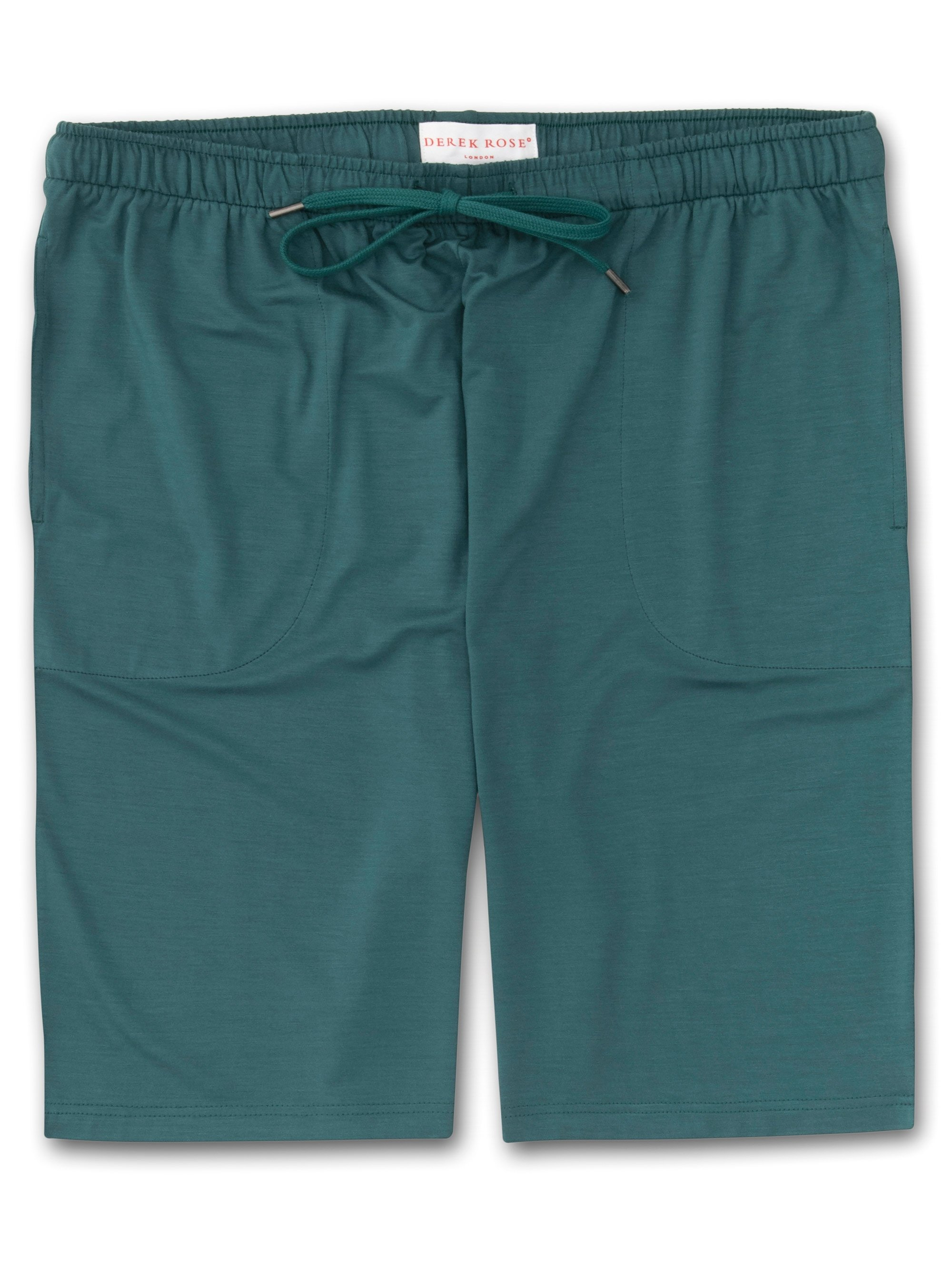 Men's Jersey Shorts Basel 8 Micro Modal Stretch Green