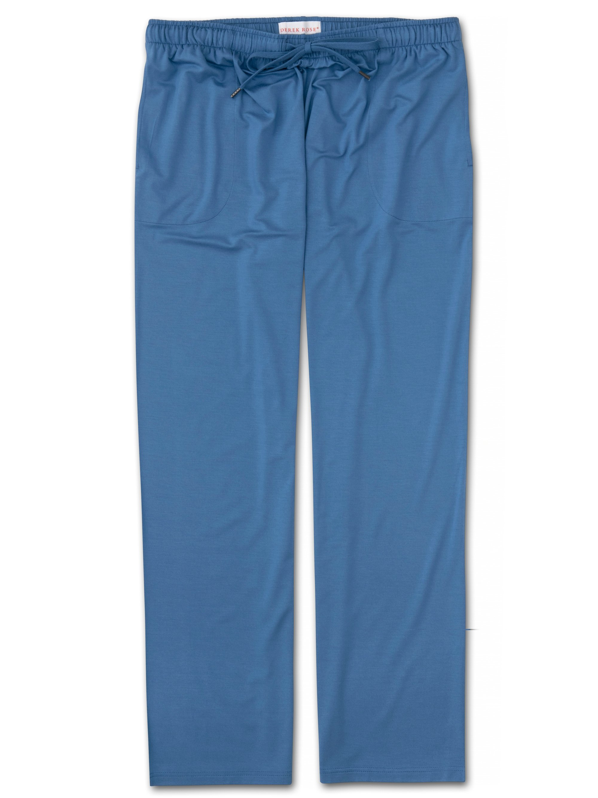Men's Jersey Trousers Basel 9 Micro Modal Stretch Blue