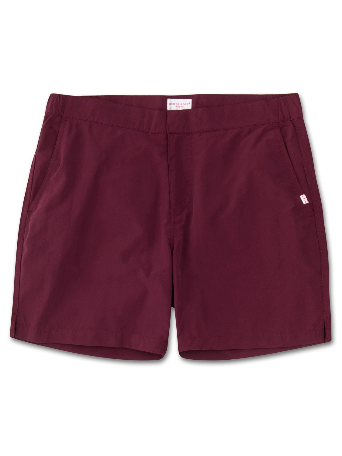Men's Modern Fit Swim Shorts Aruba Burgundy