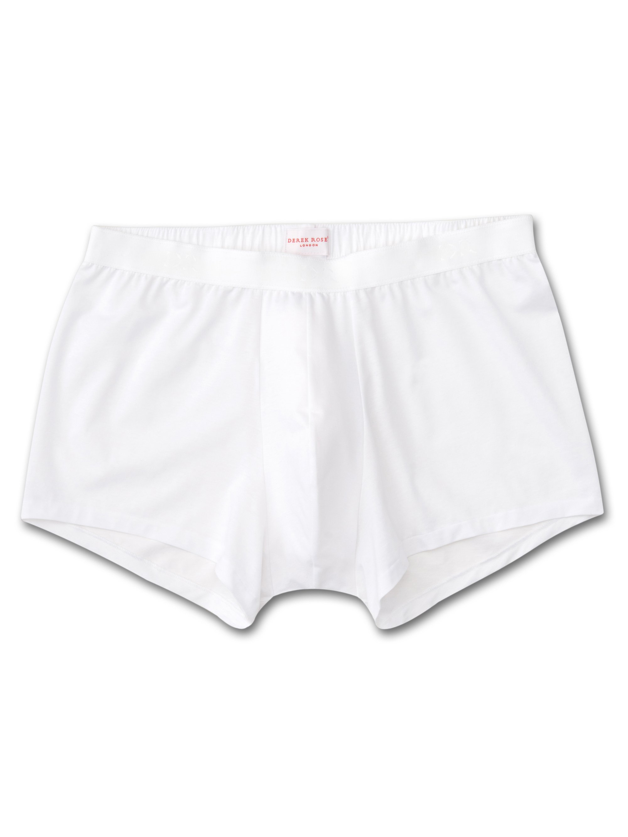 Men's Hipster Jack Pima Cotton Stretch White
