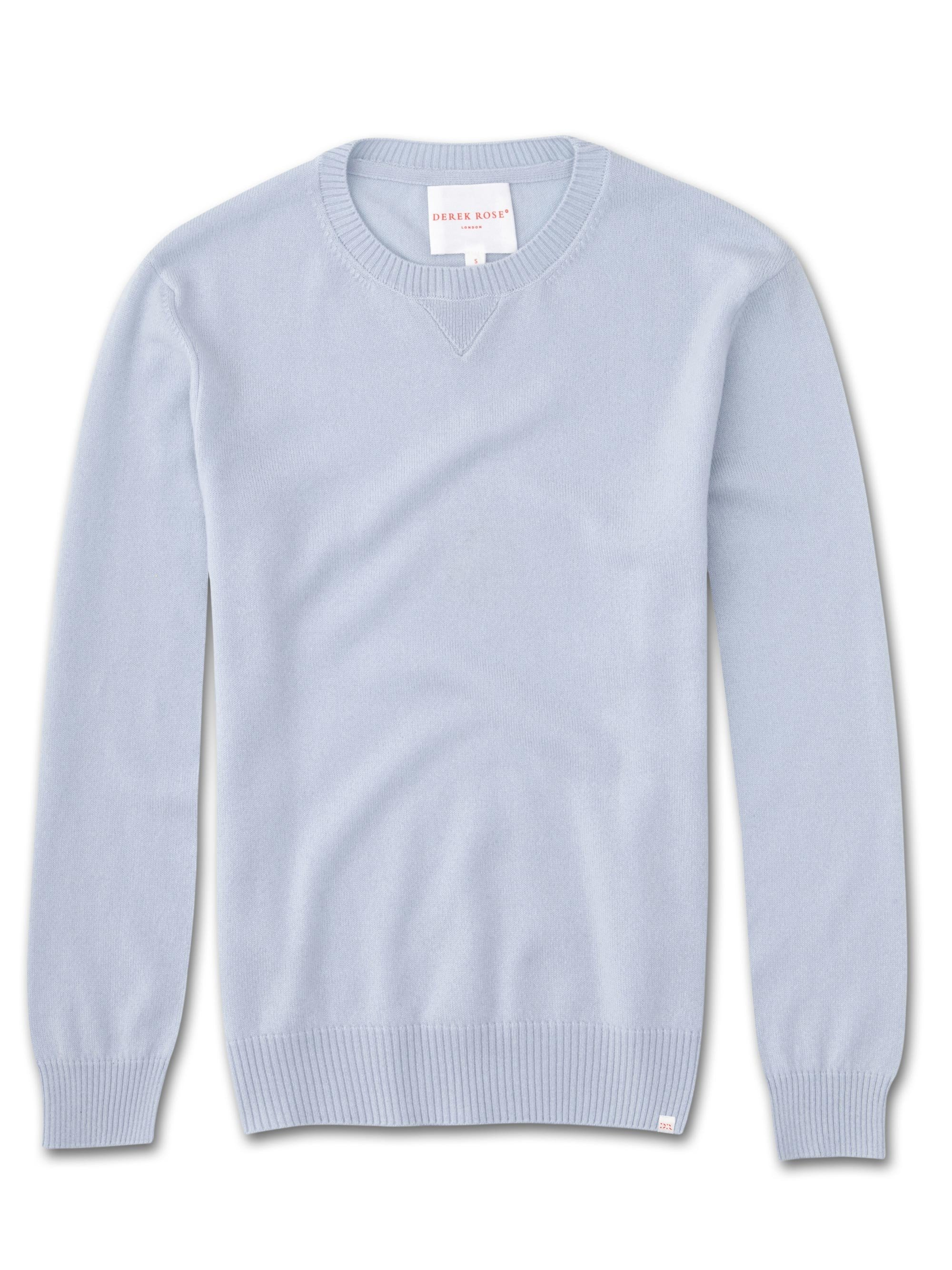 Women's Cashmere Sweater Finley Pure Cashmere Sky