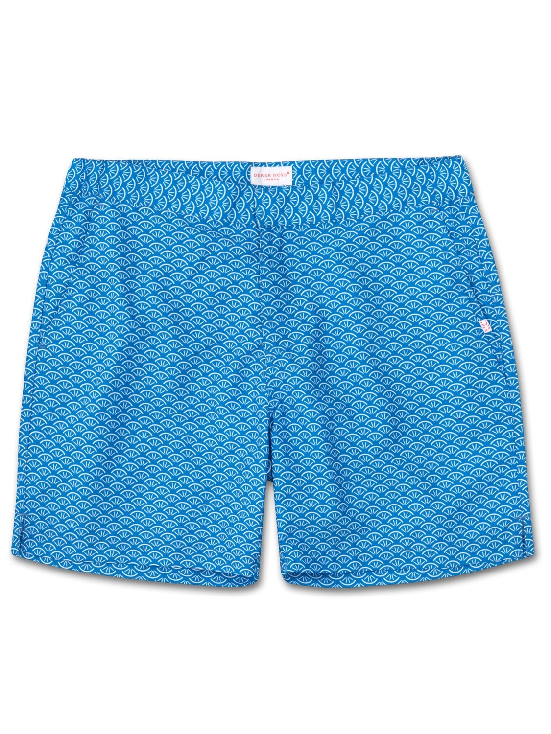 Men's Modern Fit Swim Shorts Tropez 3 Blue