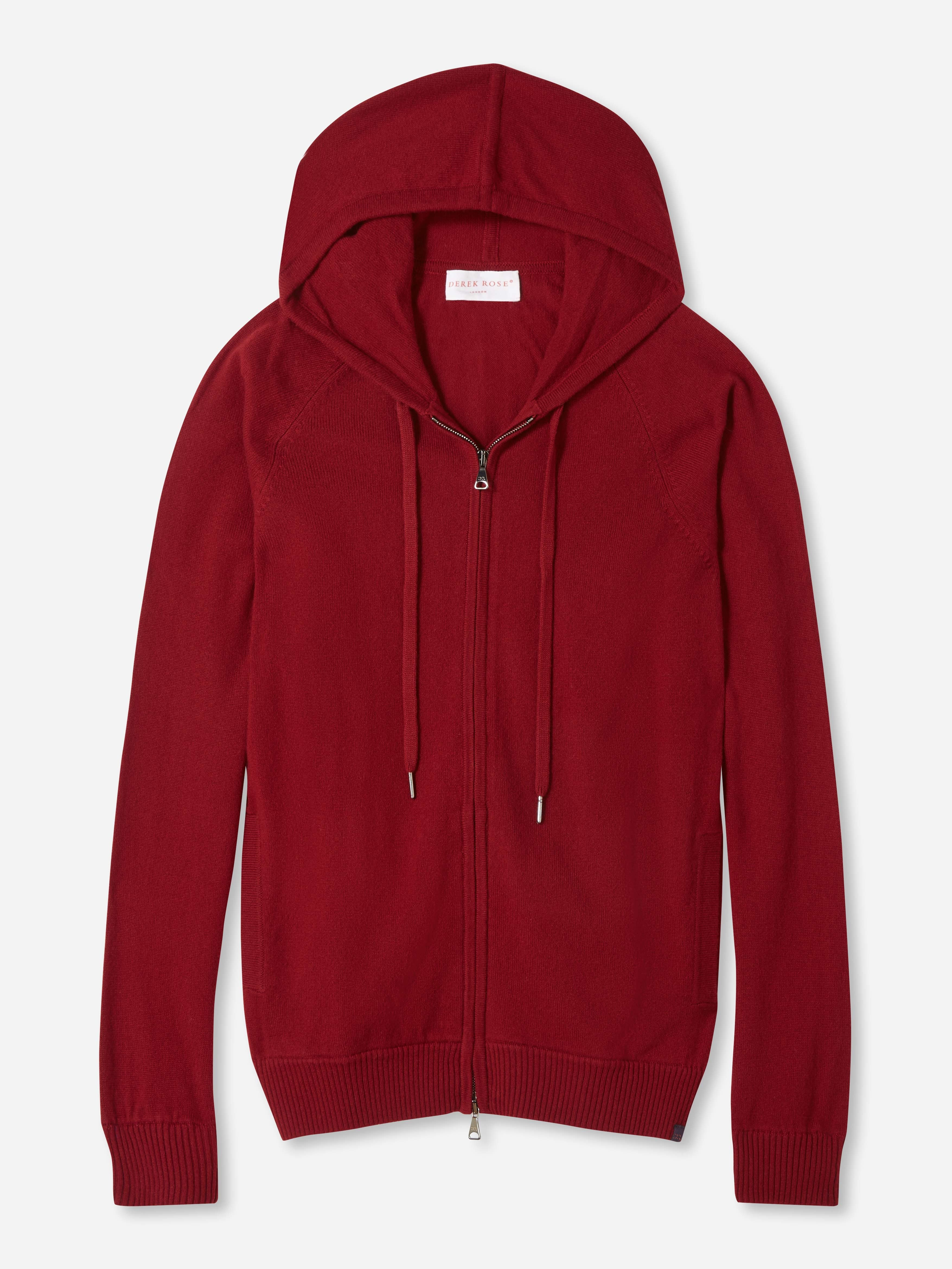 Men's Hoodie Finley Cashmere Red