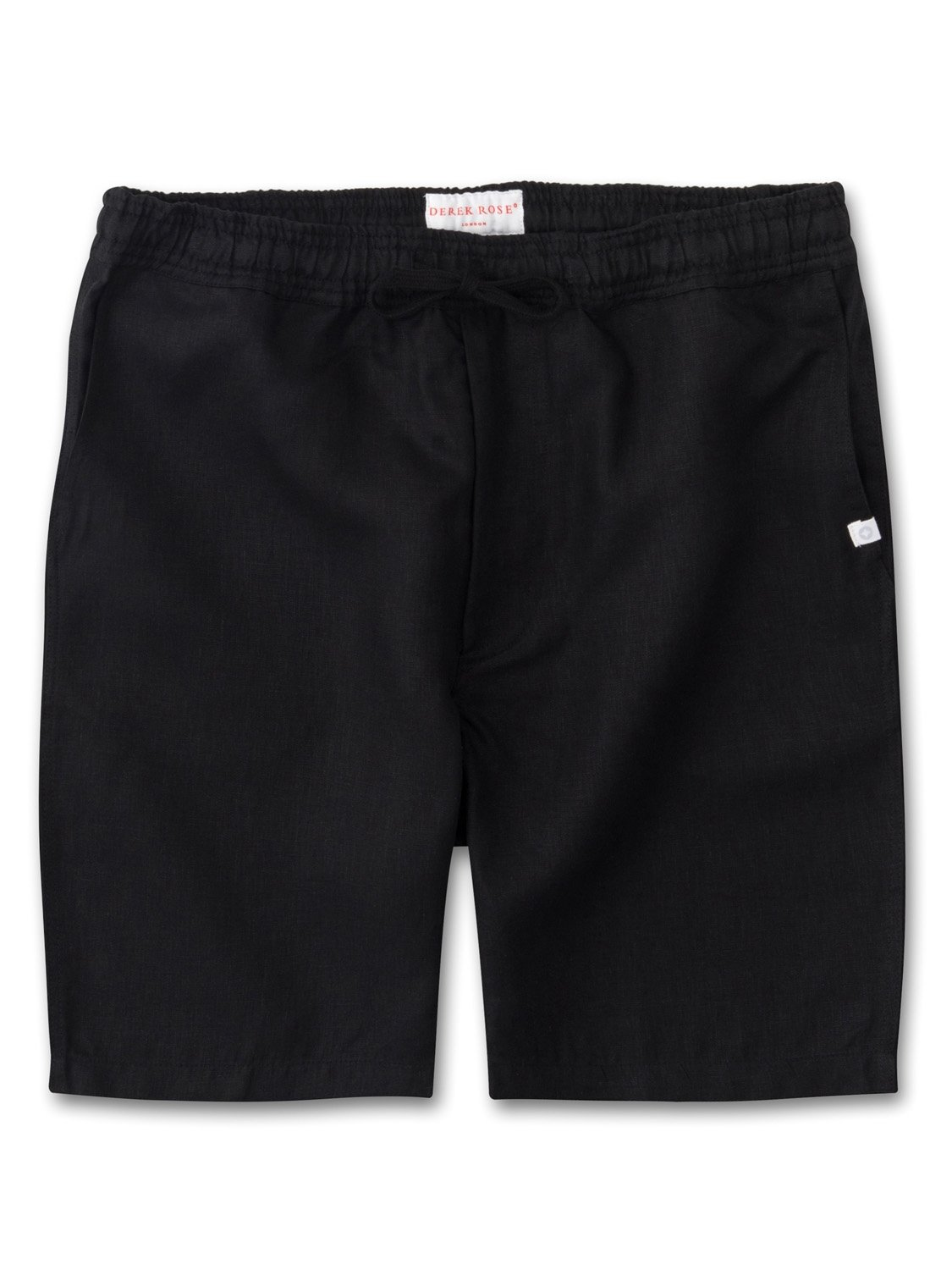 Men's Linen Shorts Sydney Linen Black