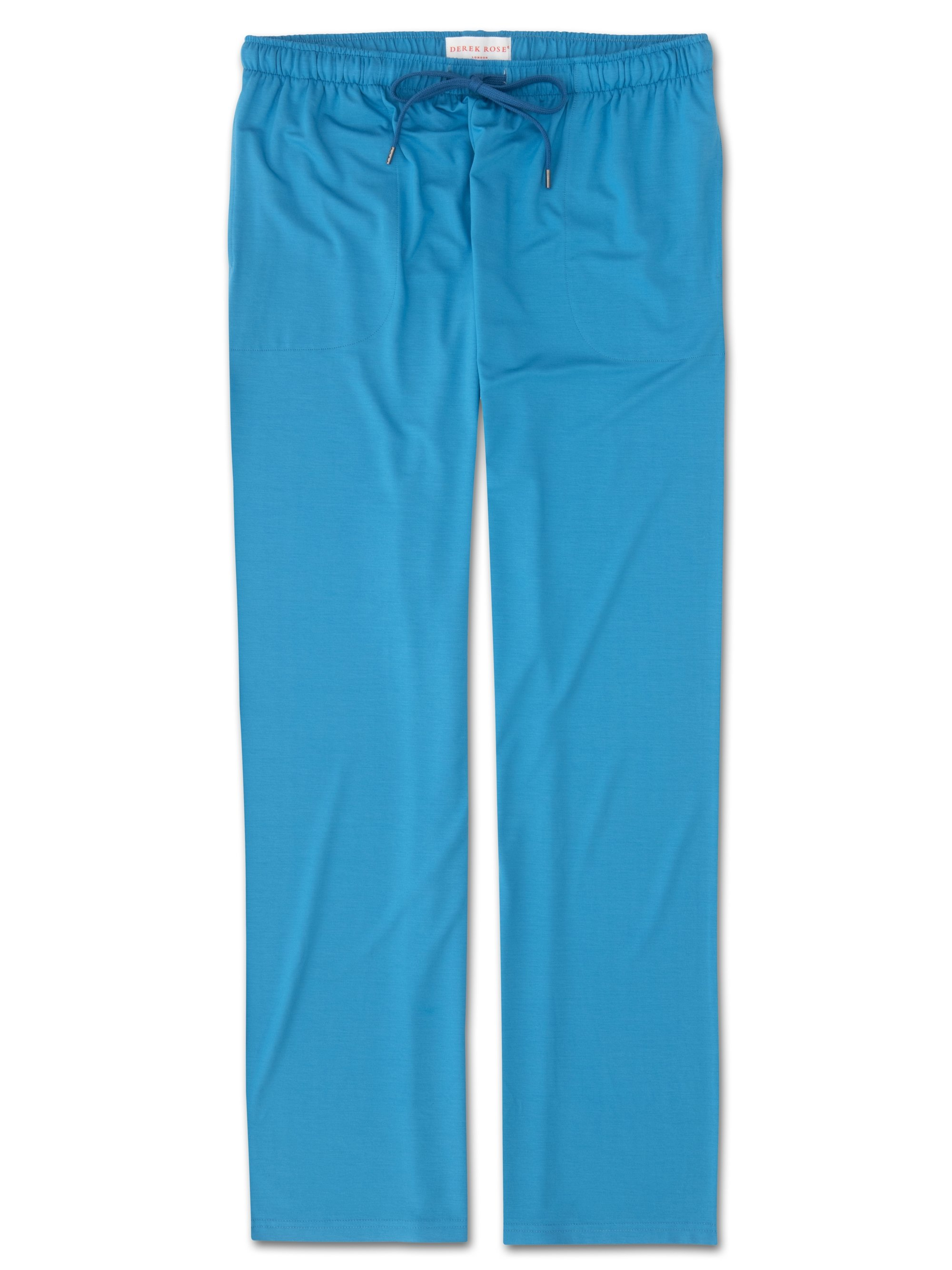 Men's Jersey Trousers Basel 6 Micro Modal Stretch Blue