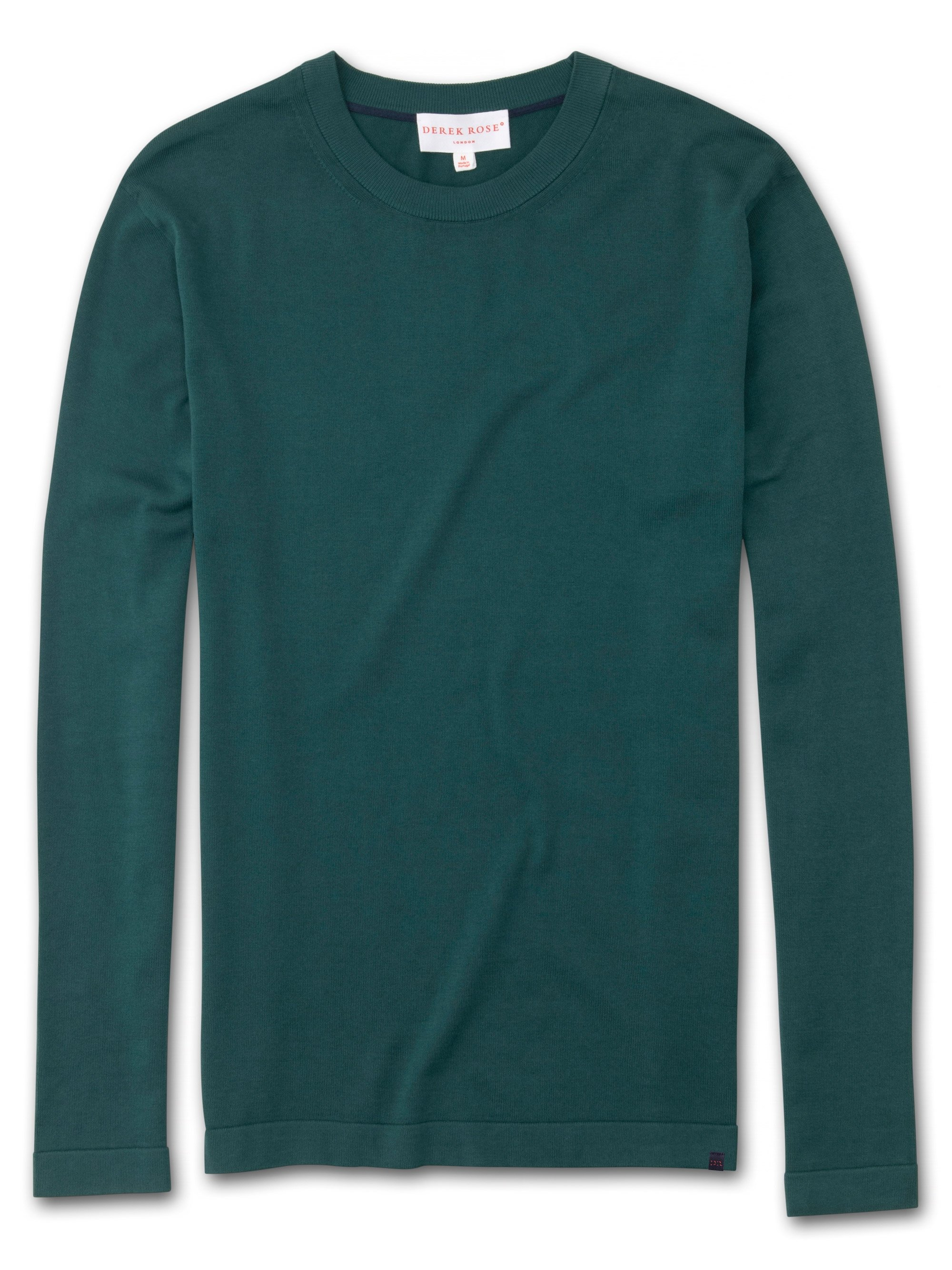 Men's Sweater Jacob Sea Island Cotton Green