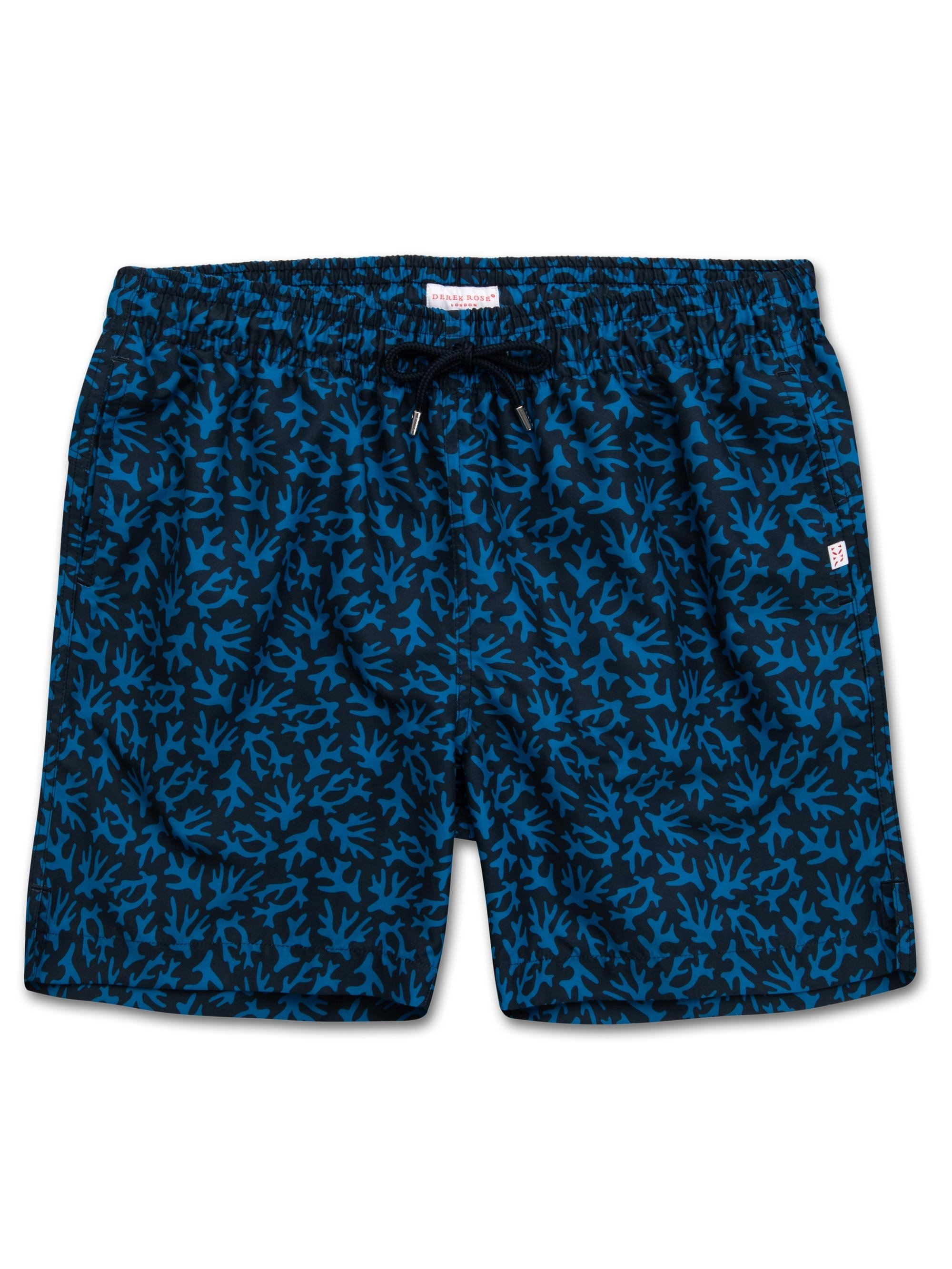 Men's Classic Fit Swim Shorts Maui 17 Ocean