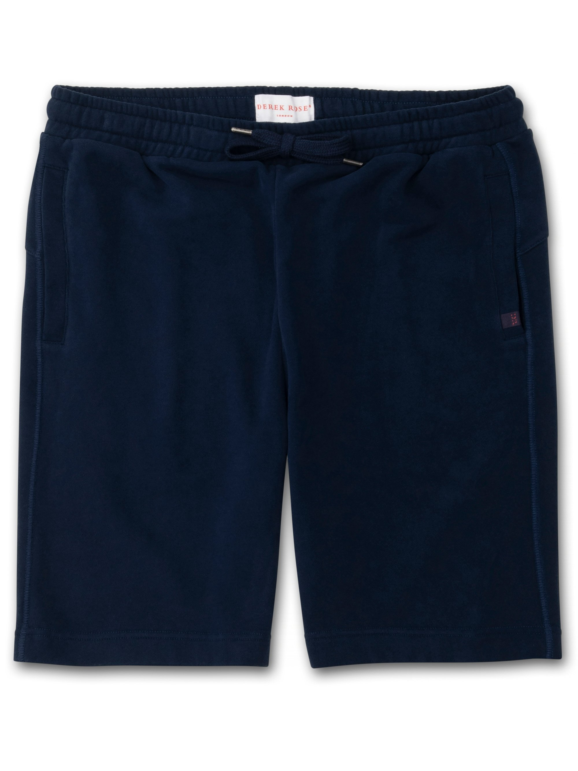 Men's Sweat Shorts Devon 2 Loopback Cotton Navy