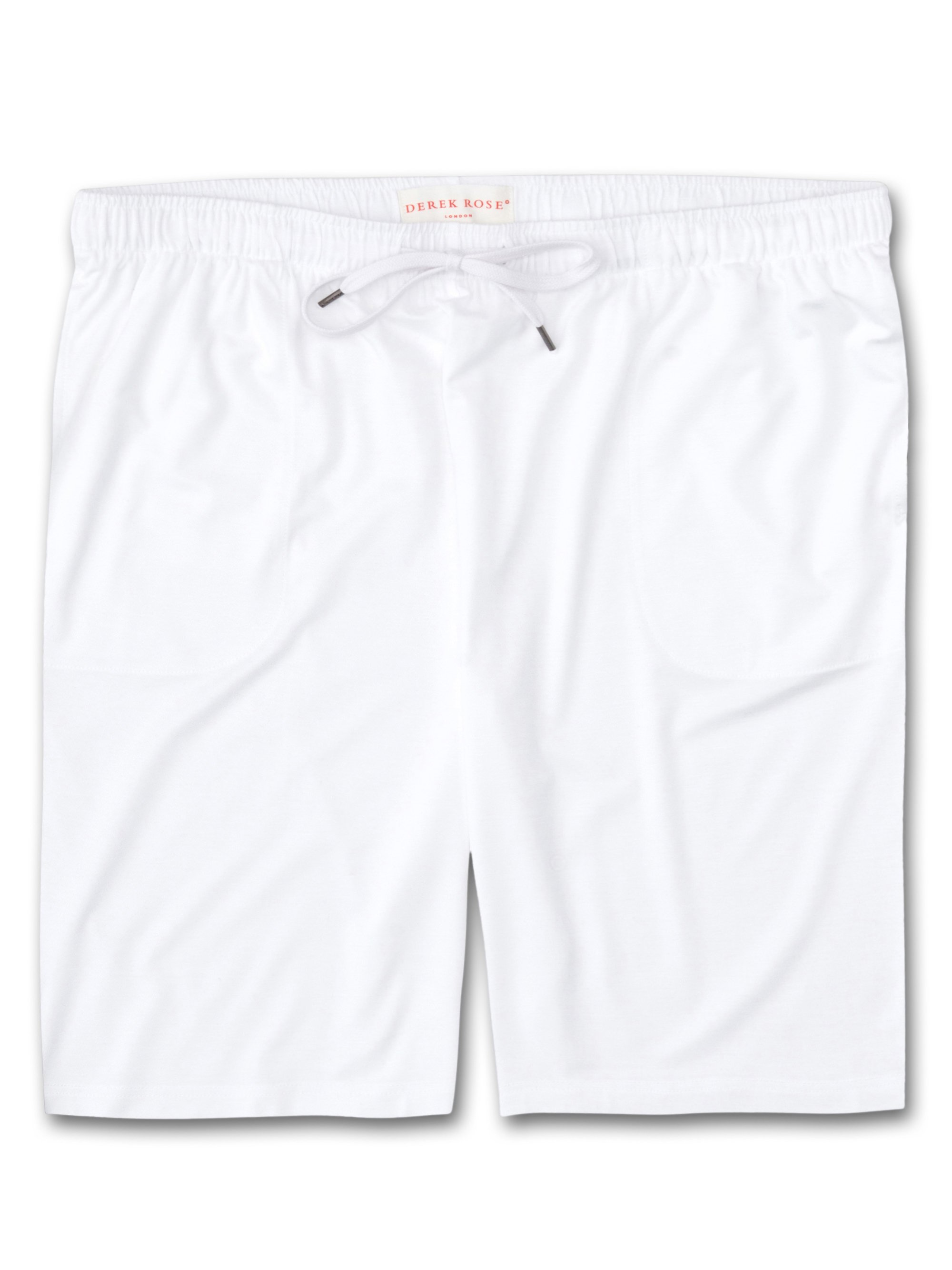 Men's Jersey Shorts Basel Micro Modal Stretch White