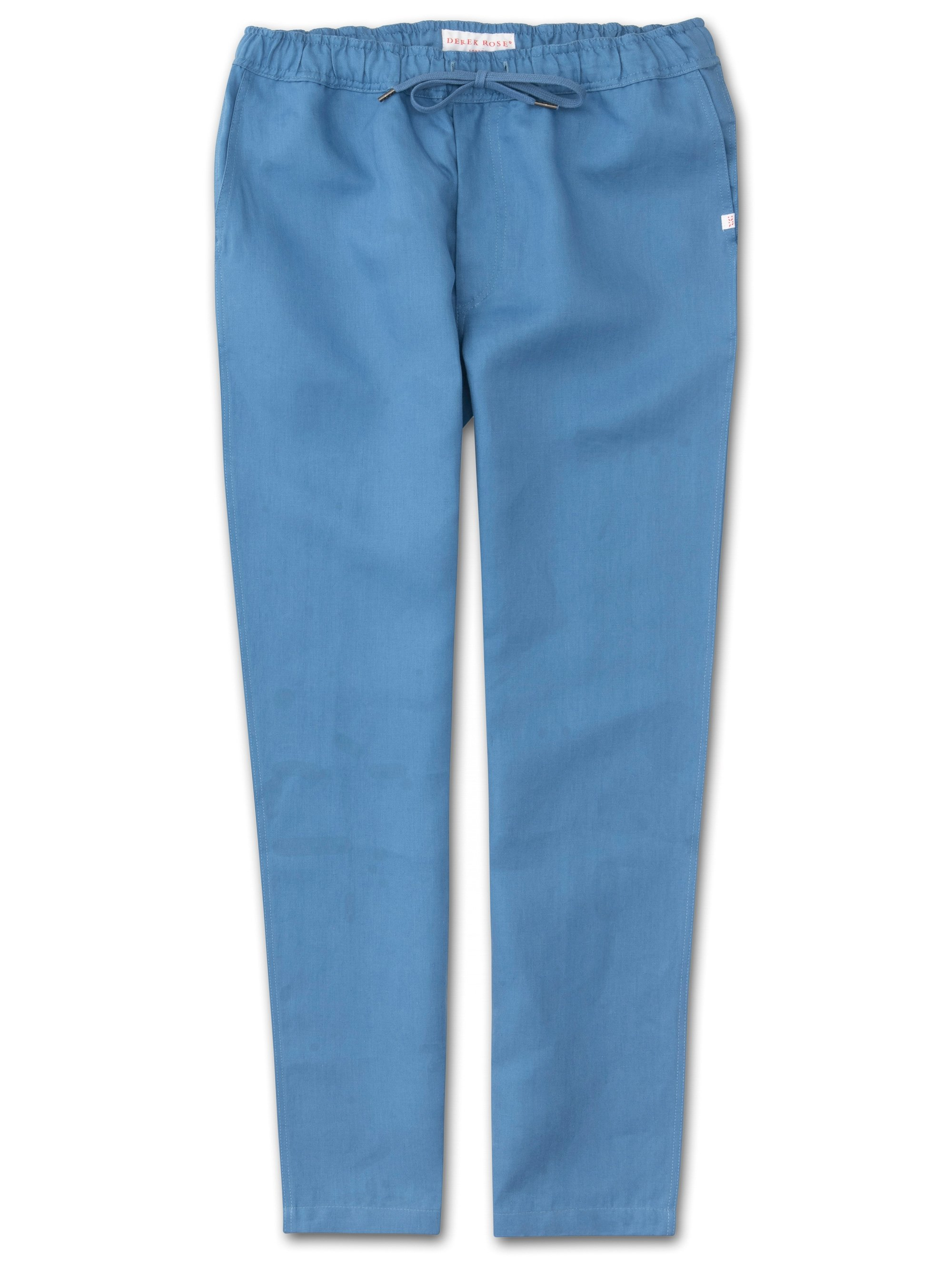 Men's Linen Trousers Sydney Linen Blue