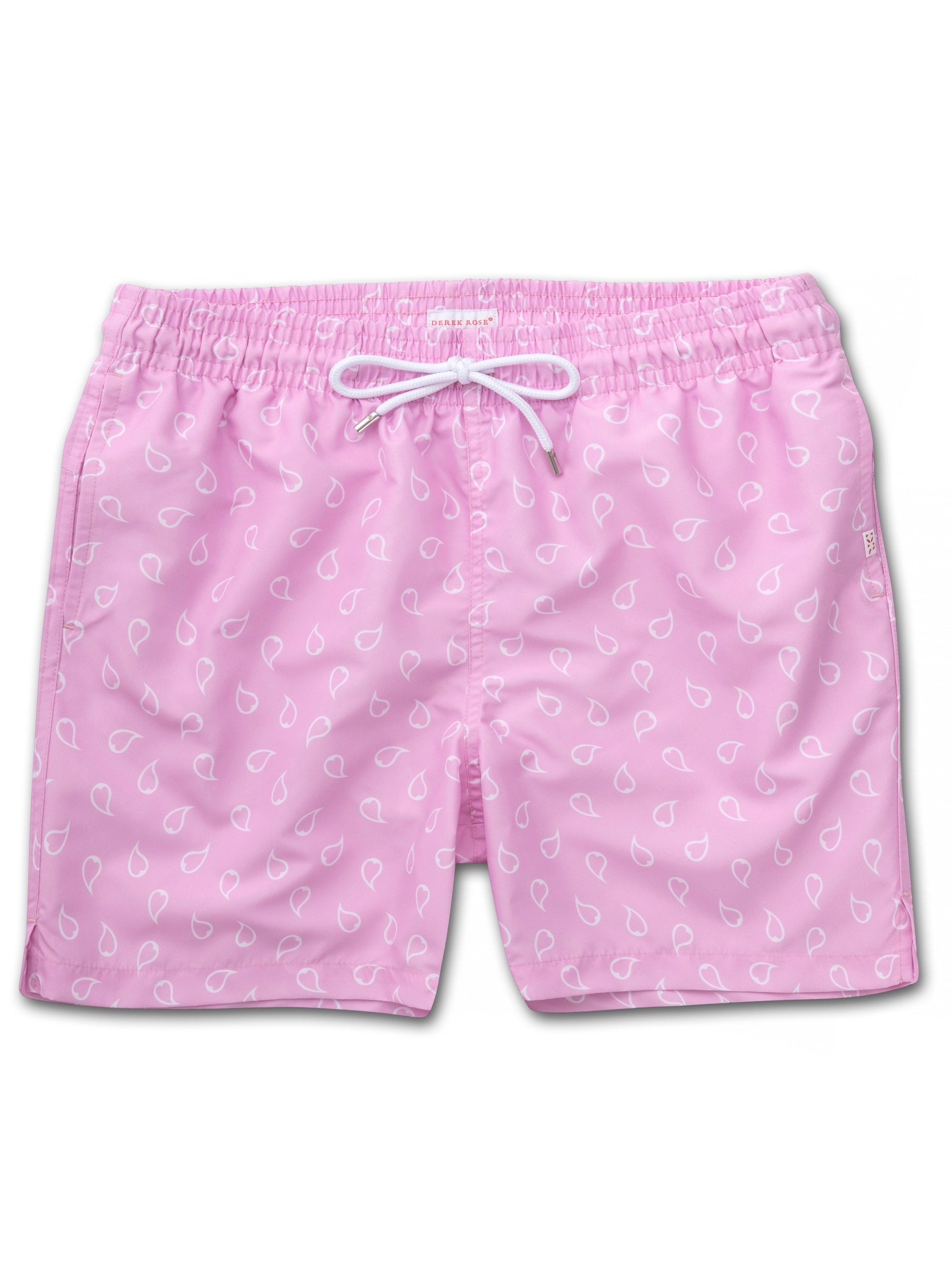 Men's Classic Fit Swim Shorts Maui 30 Pink