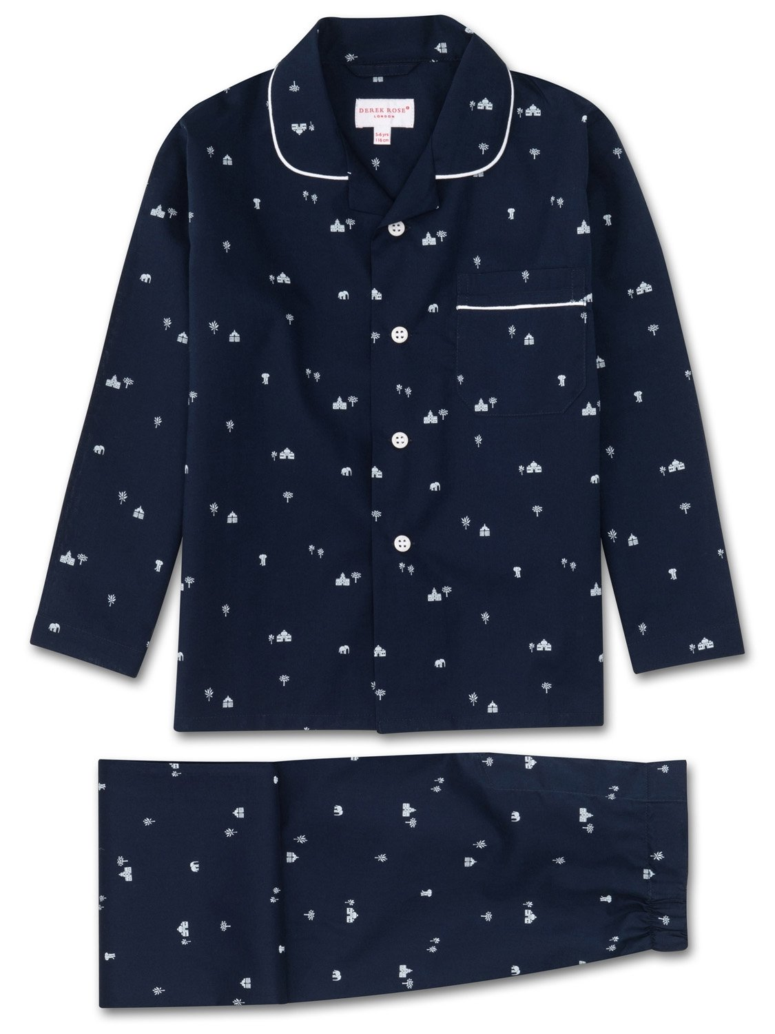 Boys' Pyjamas Nelson 62 Cotton Batiste Navy
