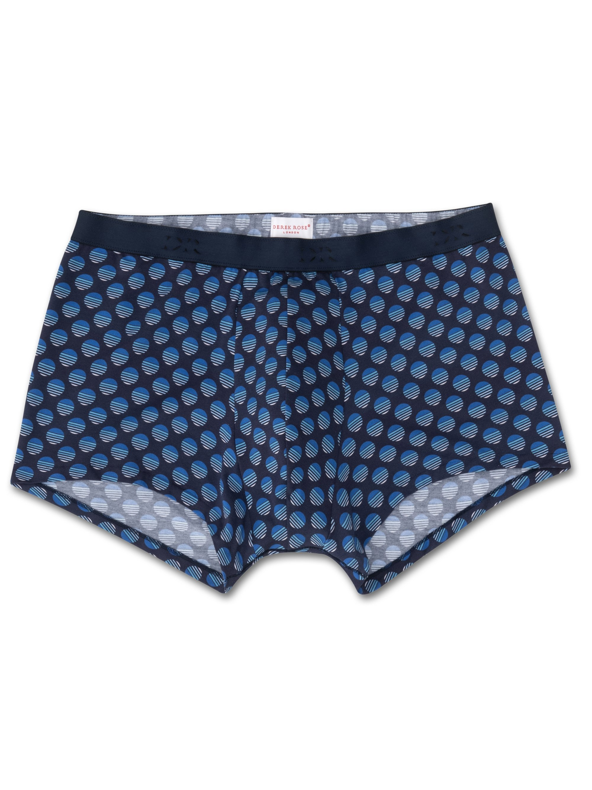 Men's Hipster Spot 4 Pima Cotton Stretch Navy