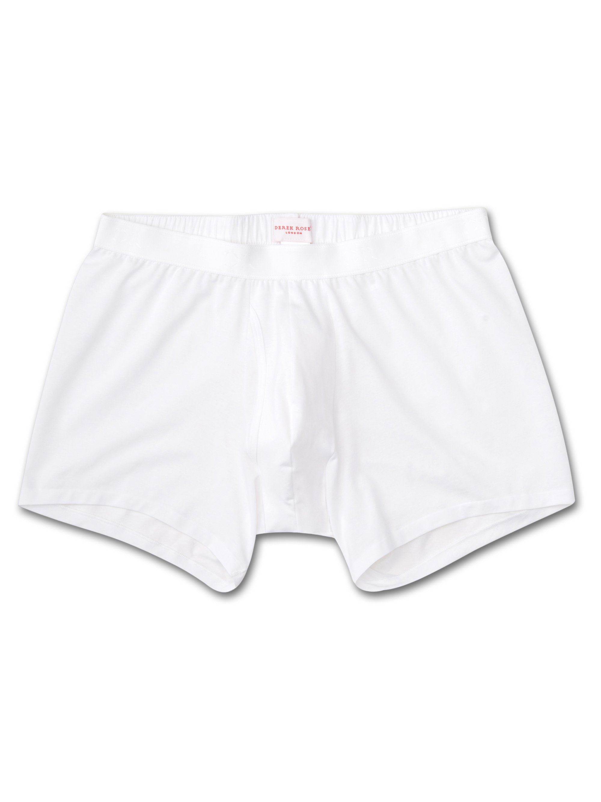 Men's Trunks Jack Pima Cotton Stretch White