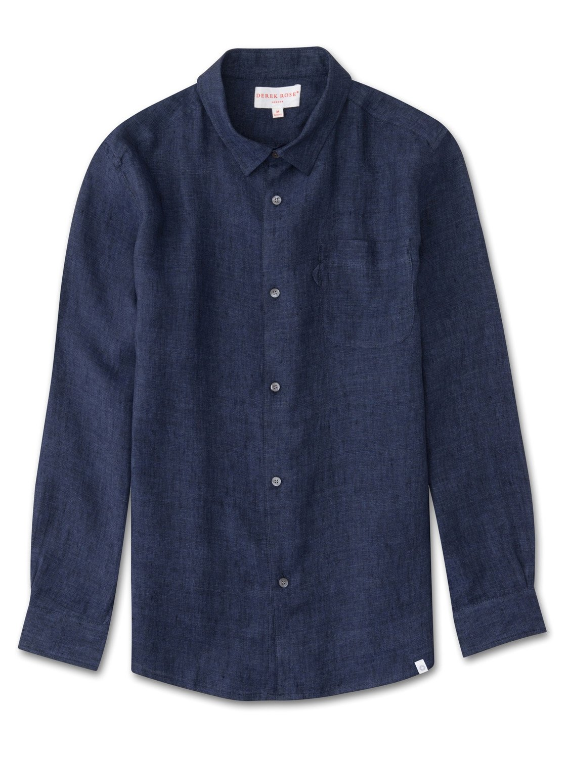 Men's Linen Shirt Monaco Pure Linen Navy