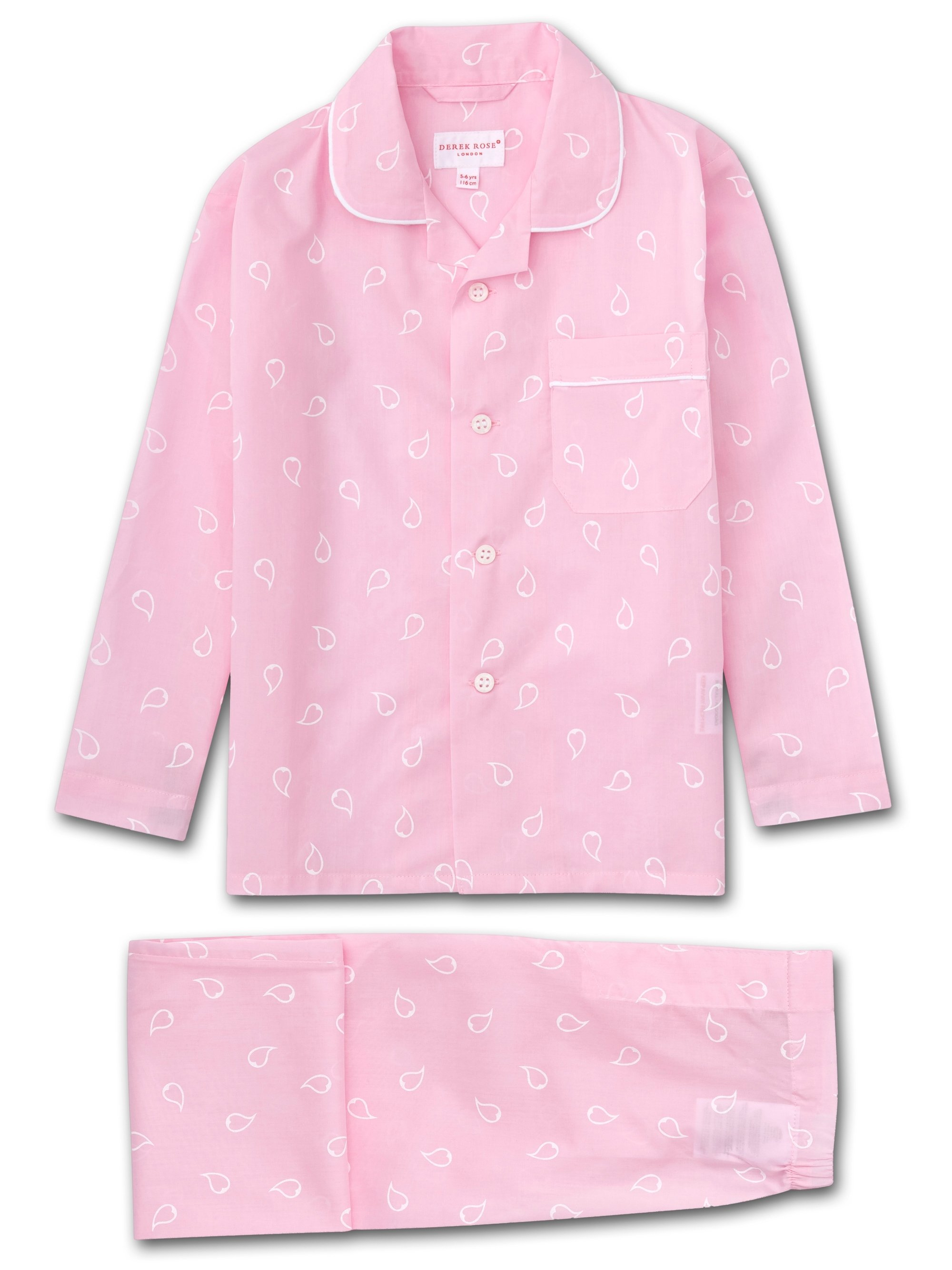 Kids' Pyjamas Nelson 74 Cotton Batiste Pink