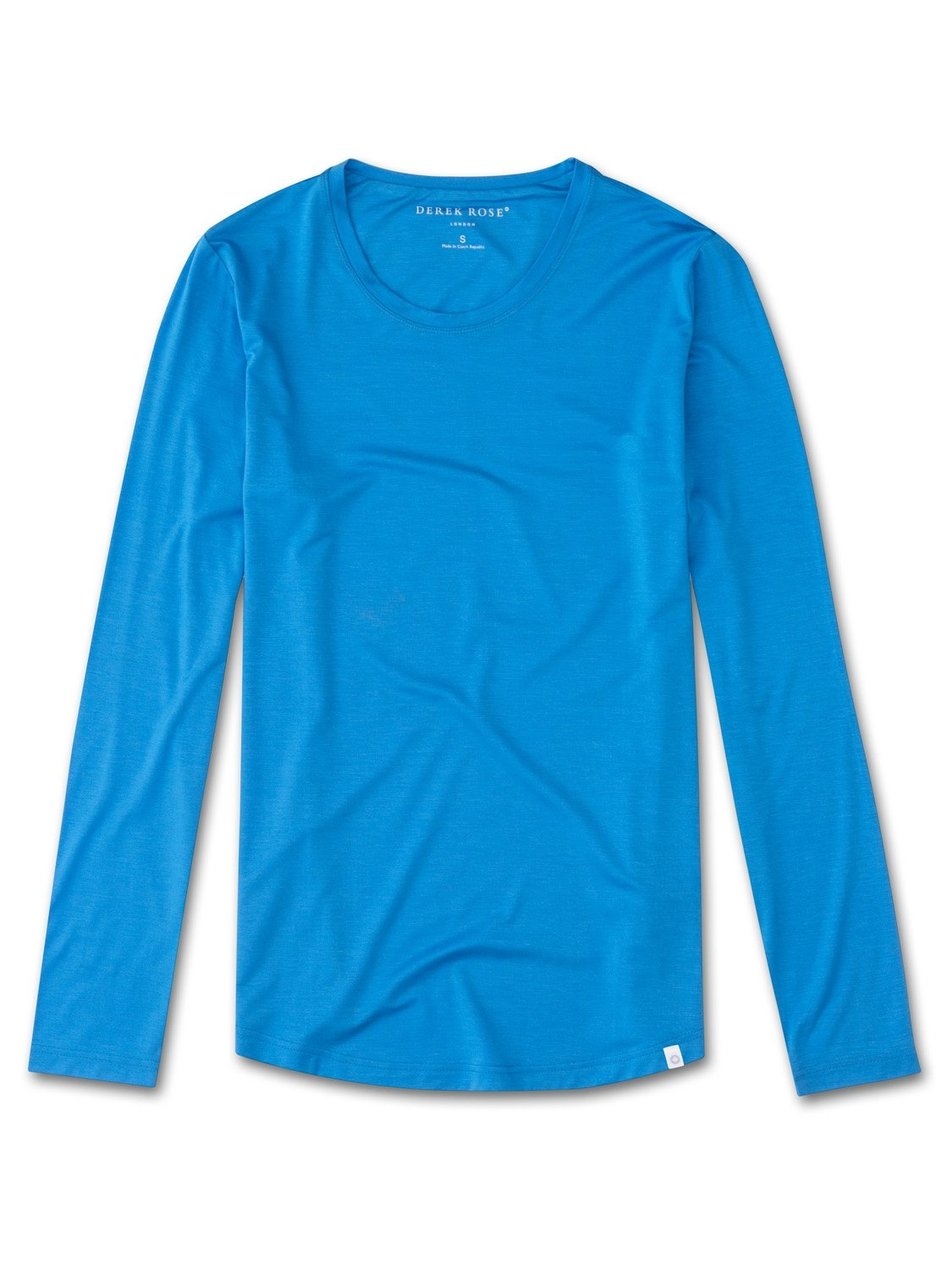 Women's Long Sleeve T-Shirt Carla 3 Micro Modal Stretch Blue