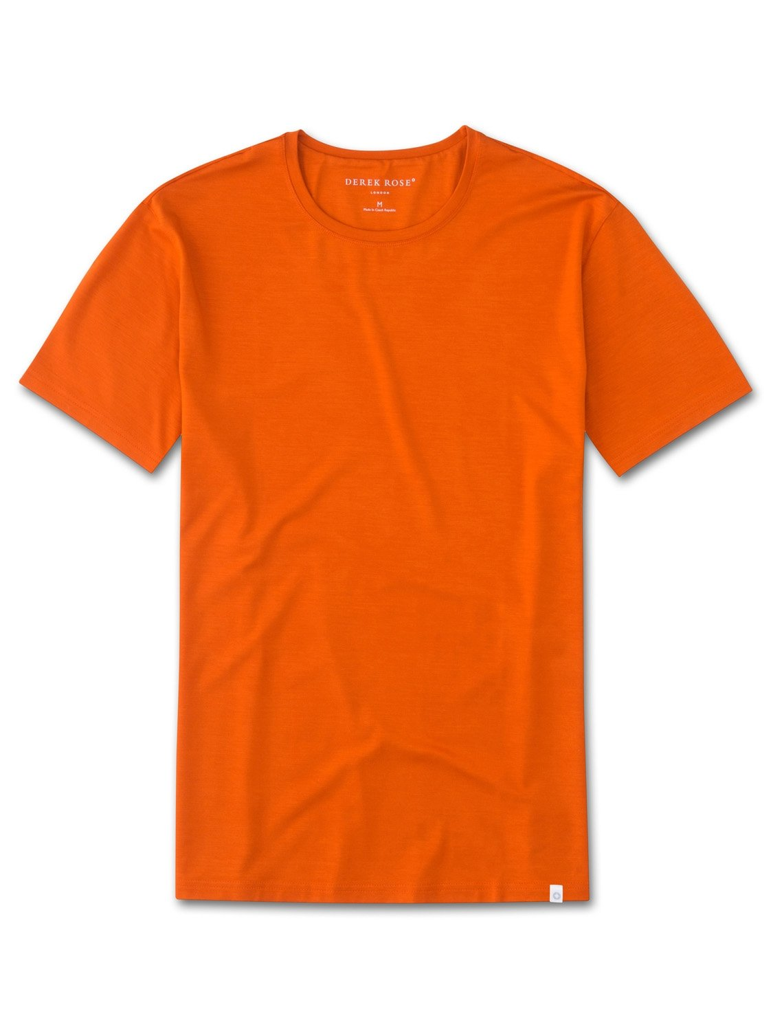 Men's Short Sleeve T-Shirt Basel 4 Micro Modal Stretch Orange