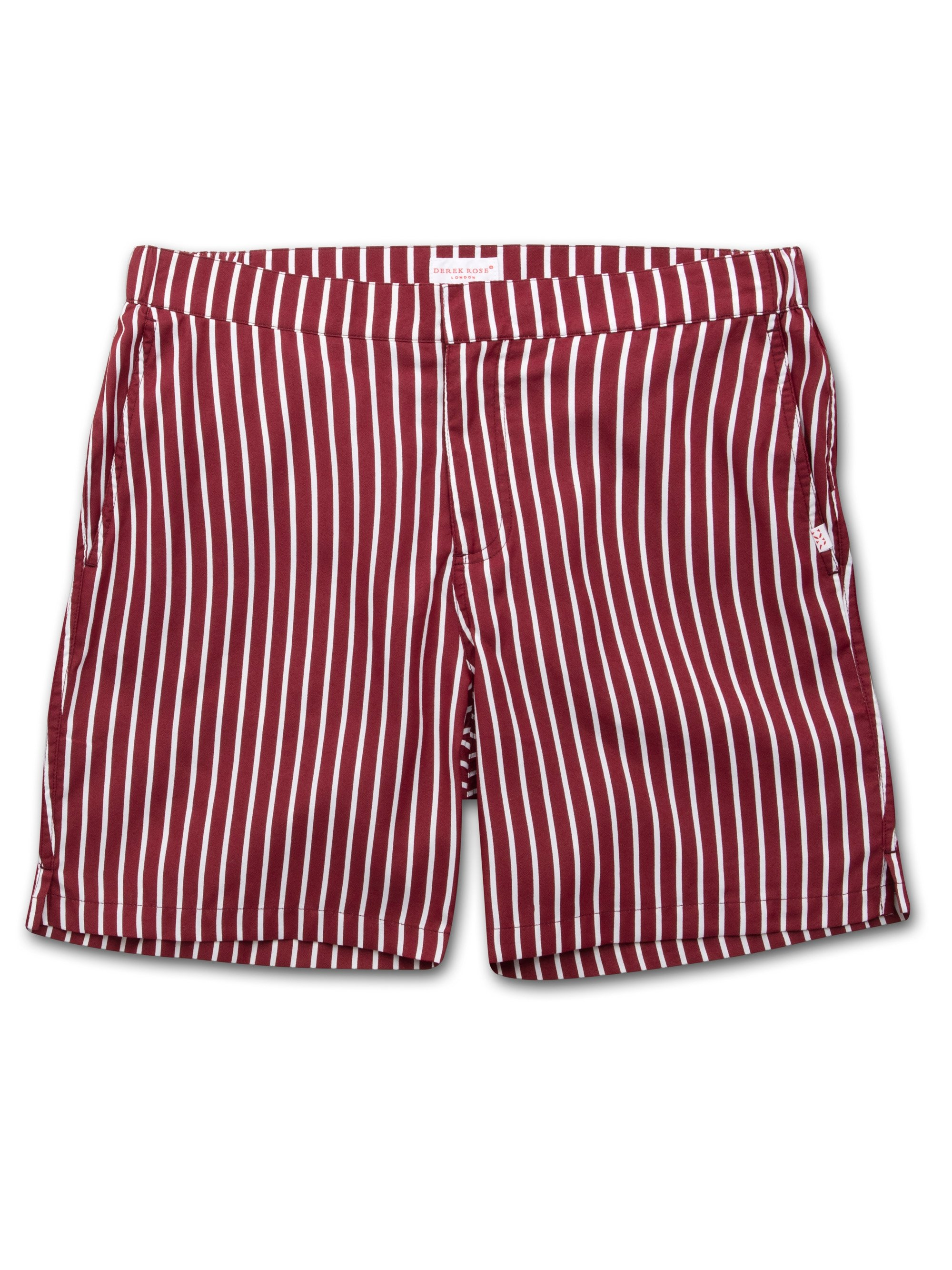 Men's Modern Fit Swim Shorts Bondi Burgundy