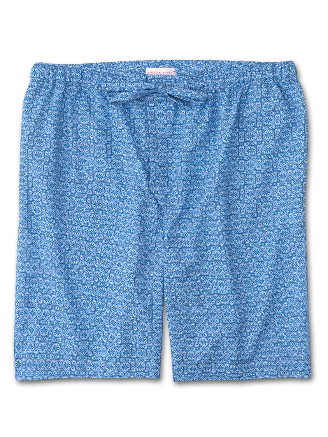 Men's Lounge Shorts Ledbury 5 Cotton Batiste Blue