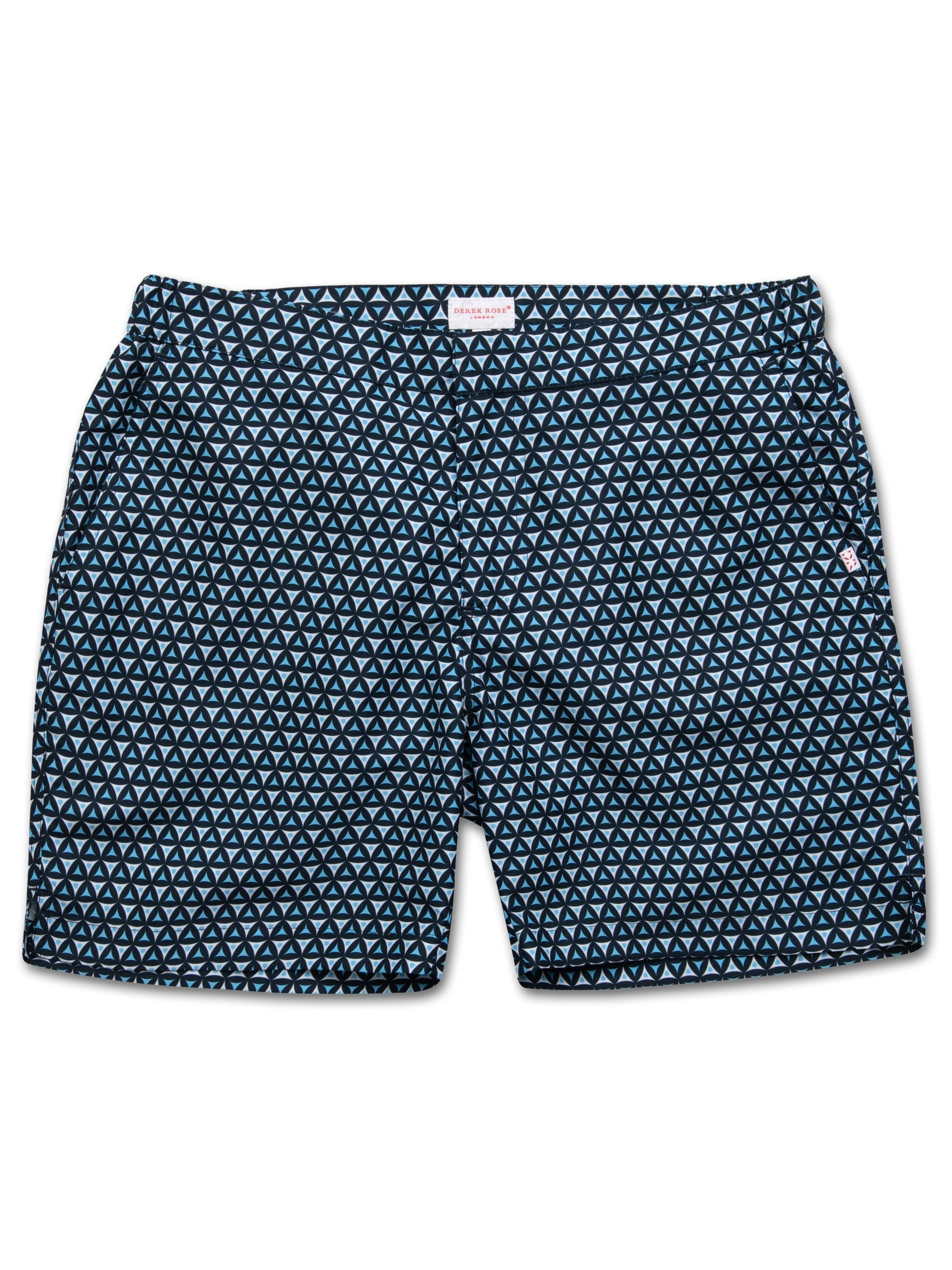 Men's Modern Fit Swim Shorts Tropez 6 Navy