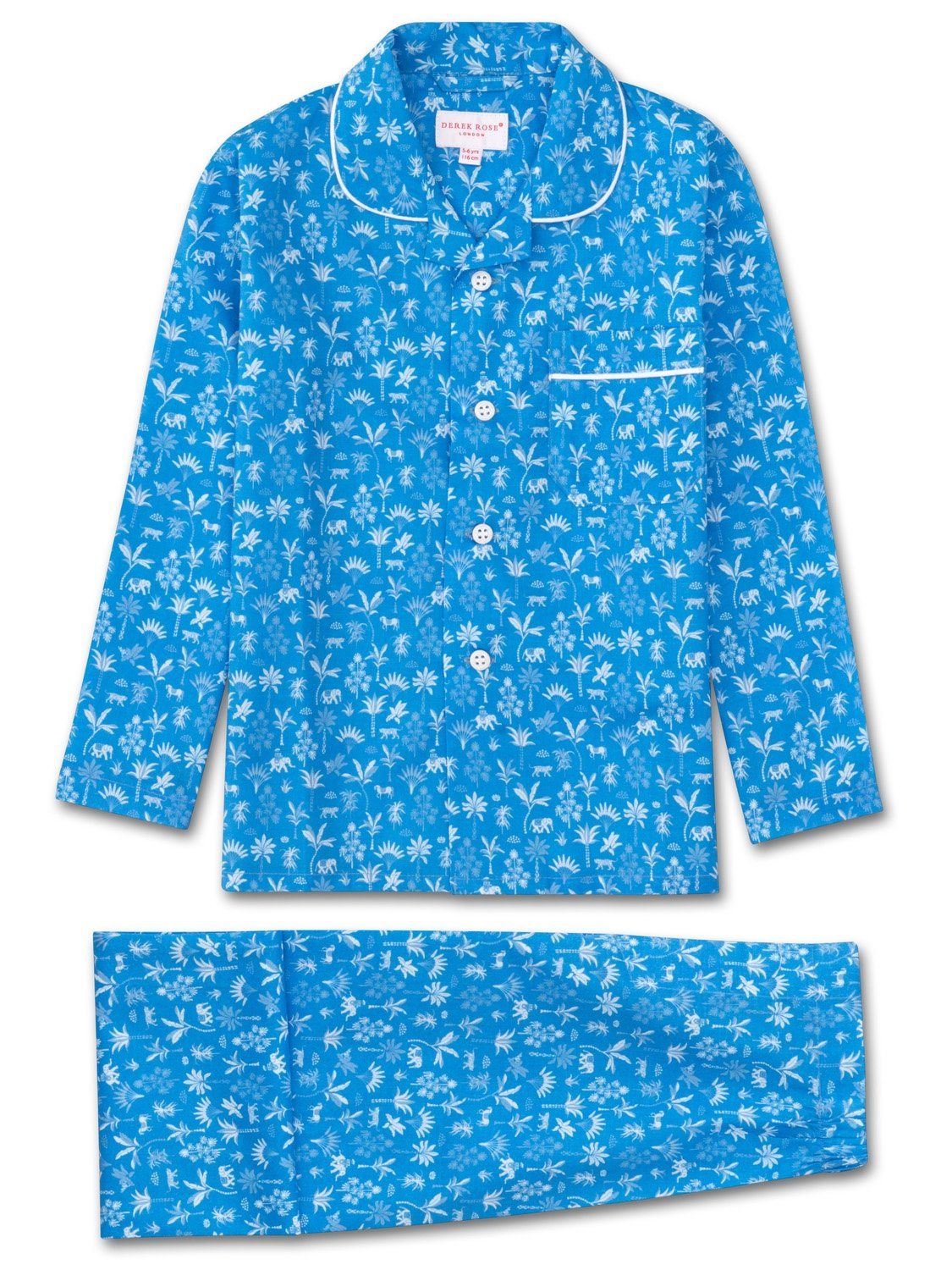 Boys' Pyjamas Ledbury 8 Cotton Batiste Blue