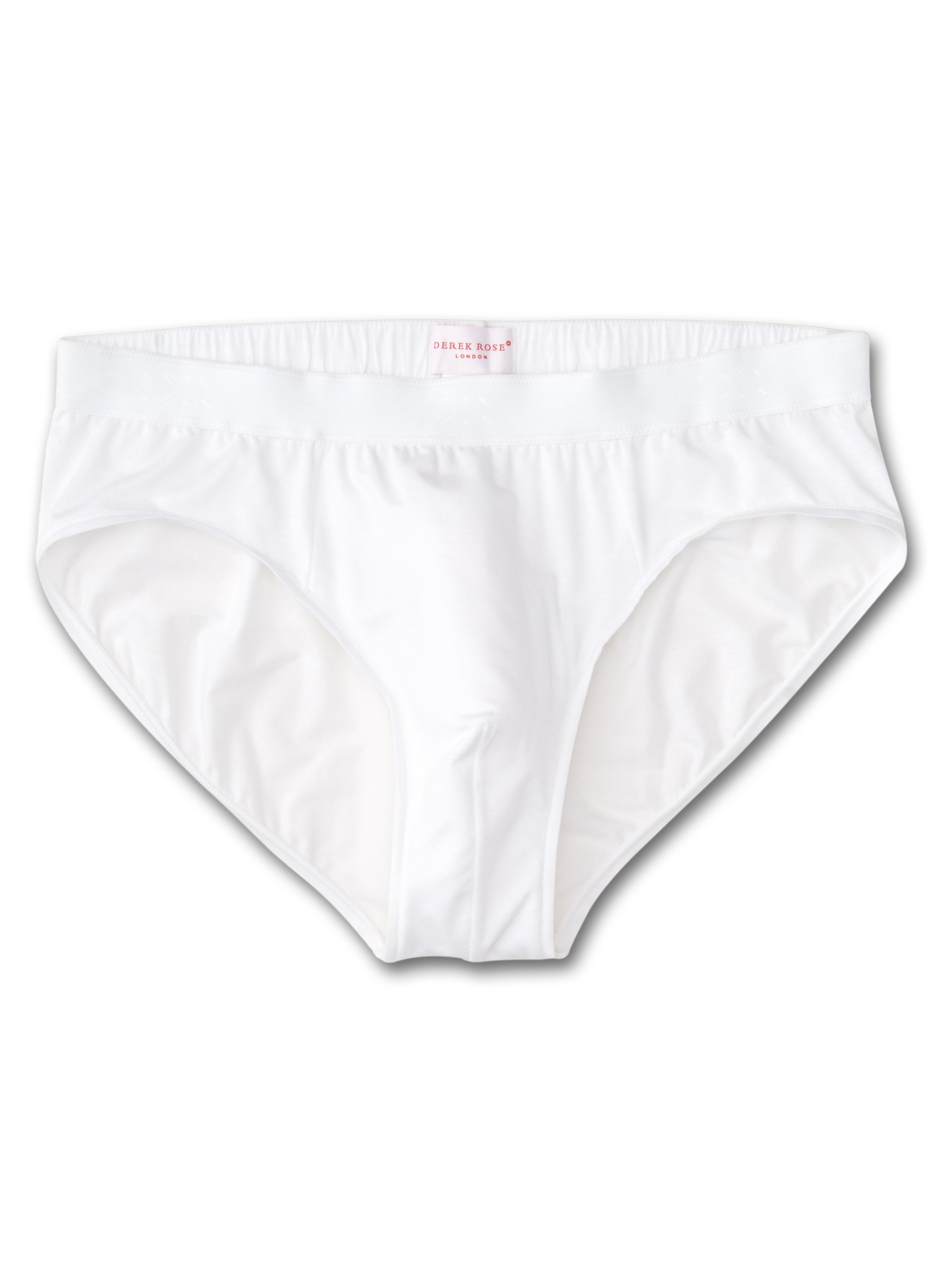 Men's Mid Briefs Alex Micro Modal Stretch White