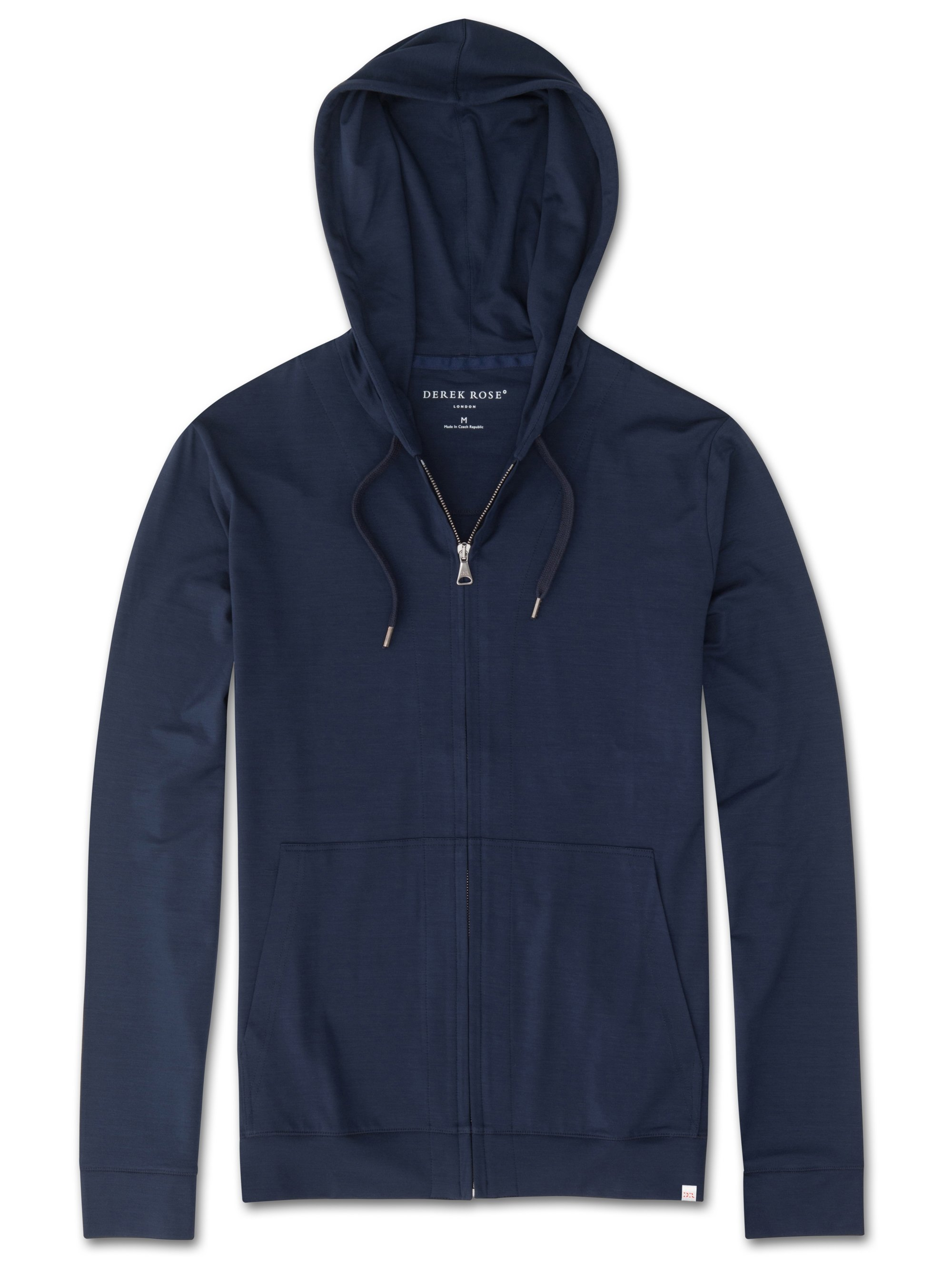 Men's Jersey Hoodie Basel Micro Modal Stretch Navy