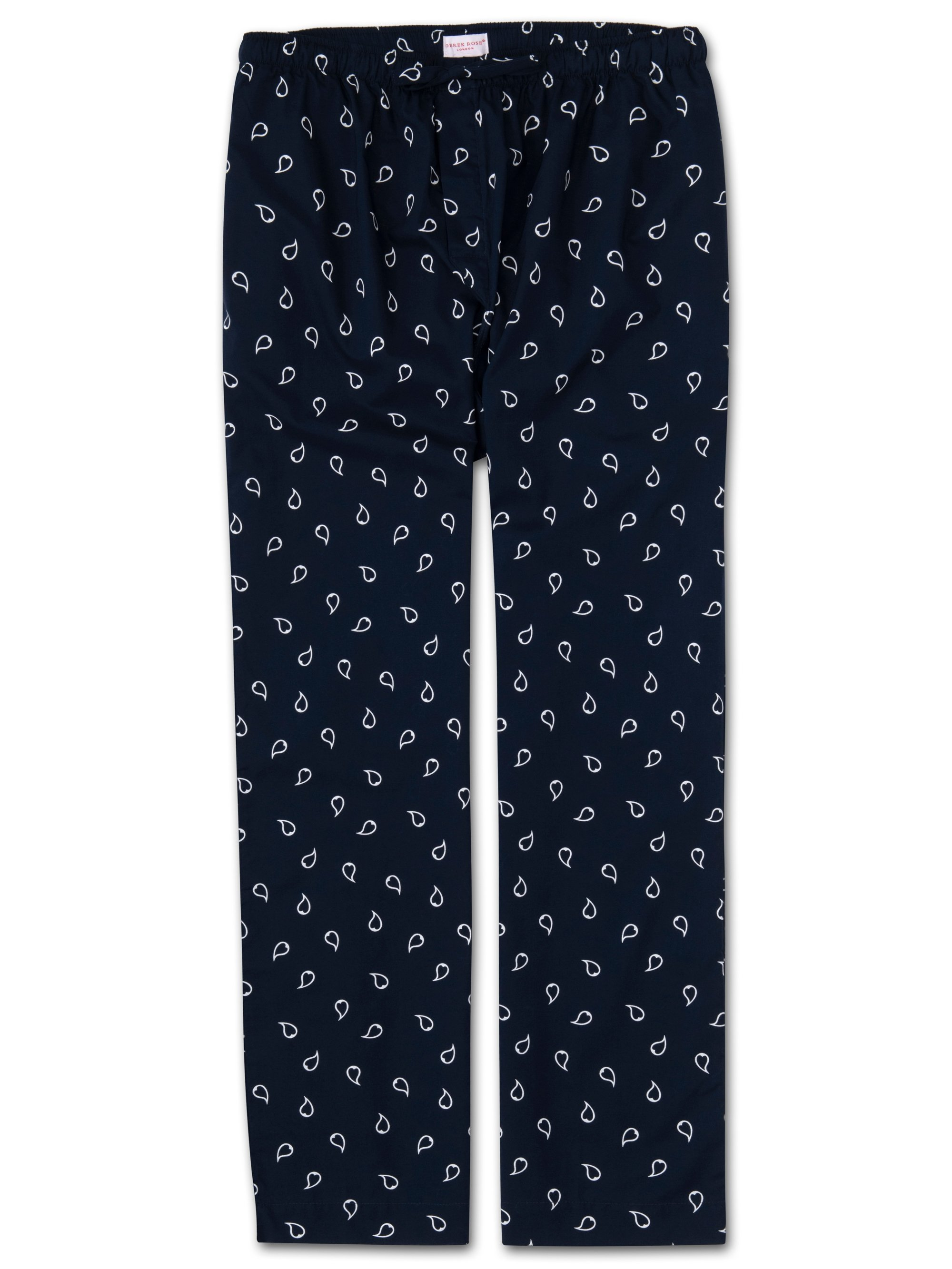Men's Lounge Trousers Nelson 74 Cotton Batiste Navy