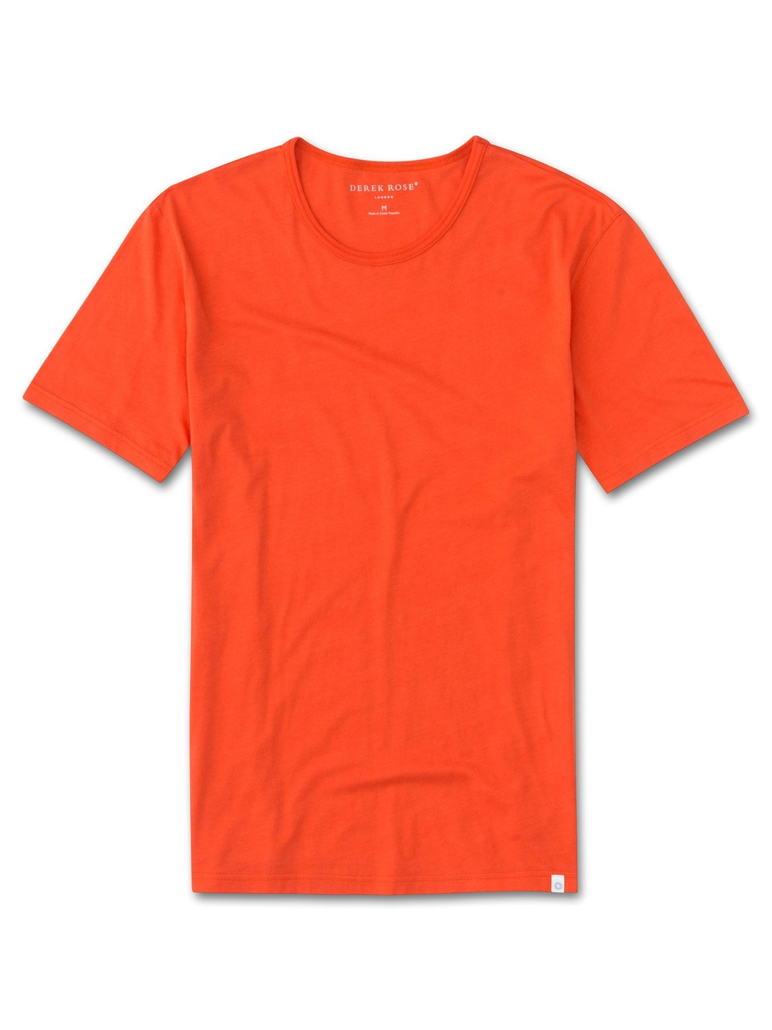 Men's Short Sleeve T-Shirt Riley 2 Pima Cotton Orange