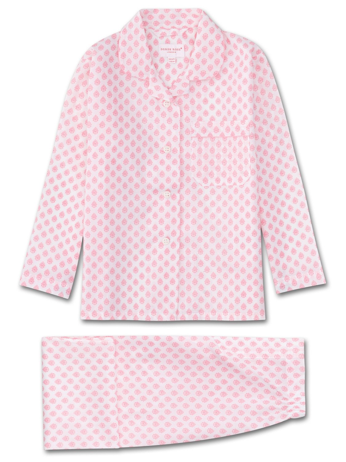 Girls' Pyjamas Ledbury 9 Cotton Batiste White