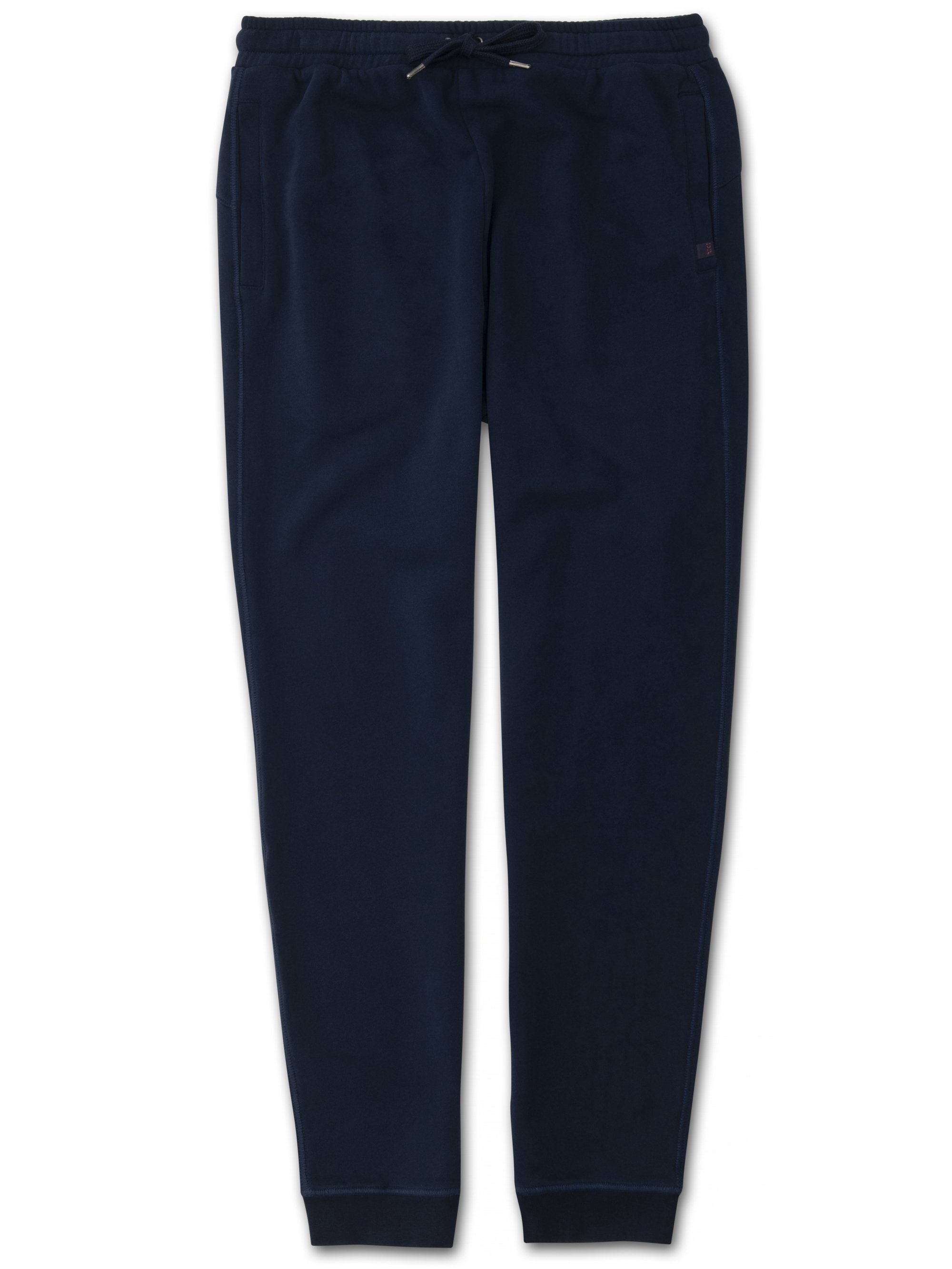 Men's Sweatpants Devon 2 Loopback Cotton Navy