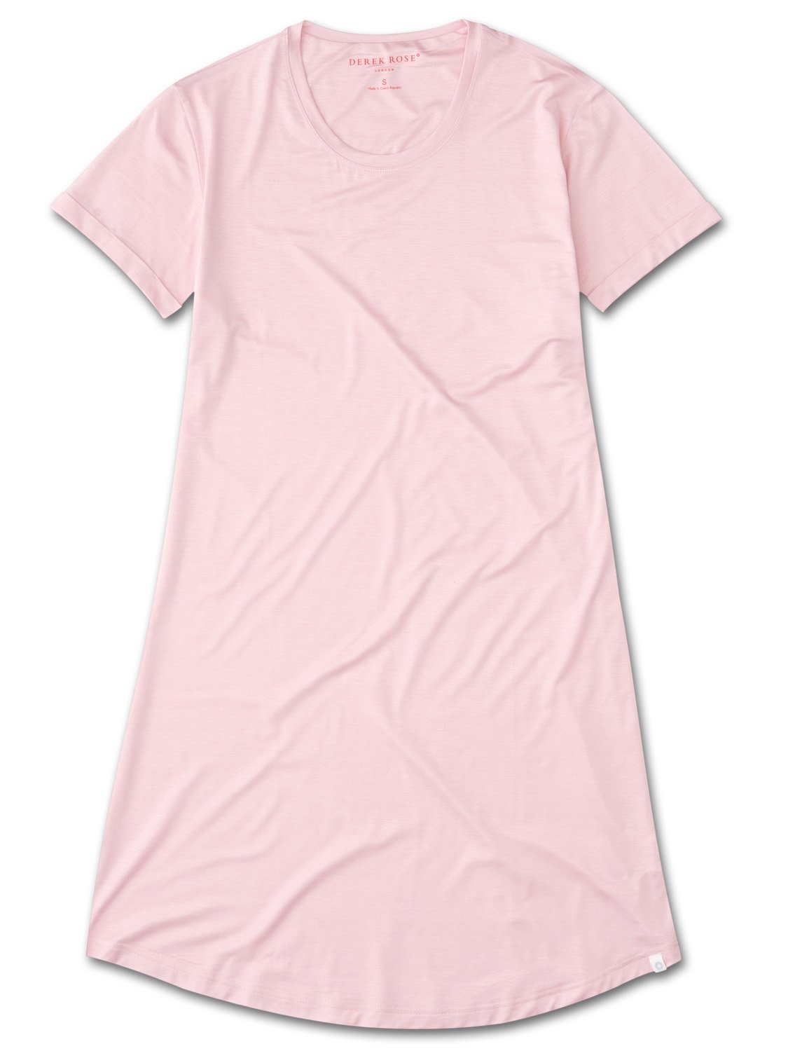 Women's Sleep T-Shirt Carla 3 Micro Modal Stretch Pink