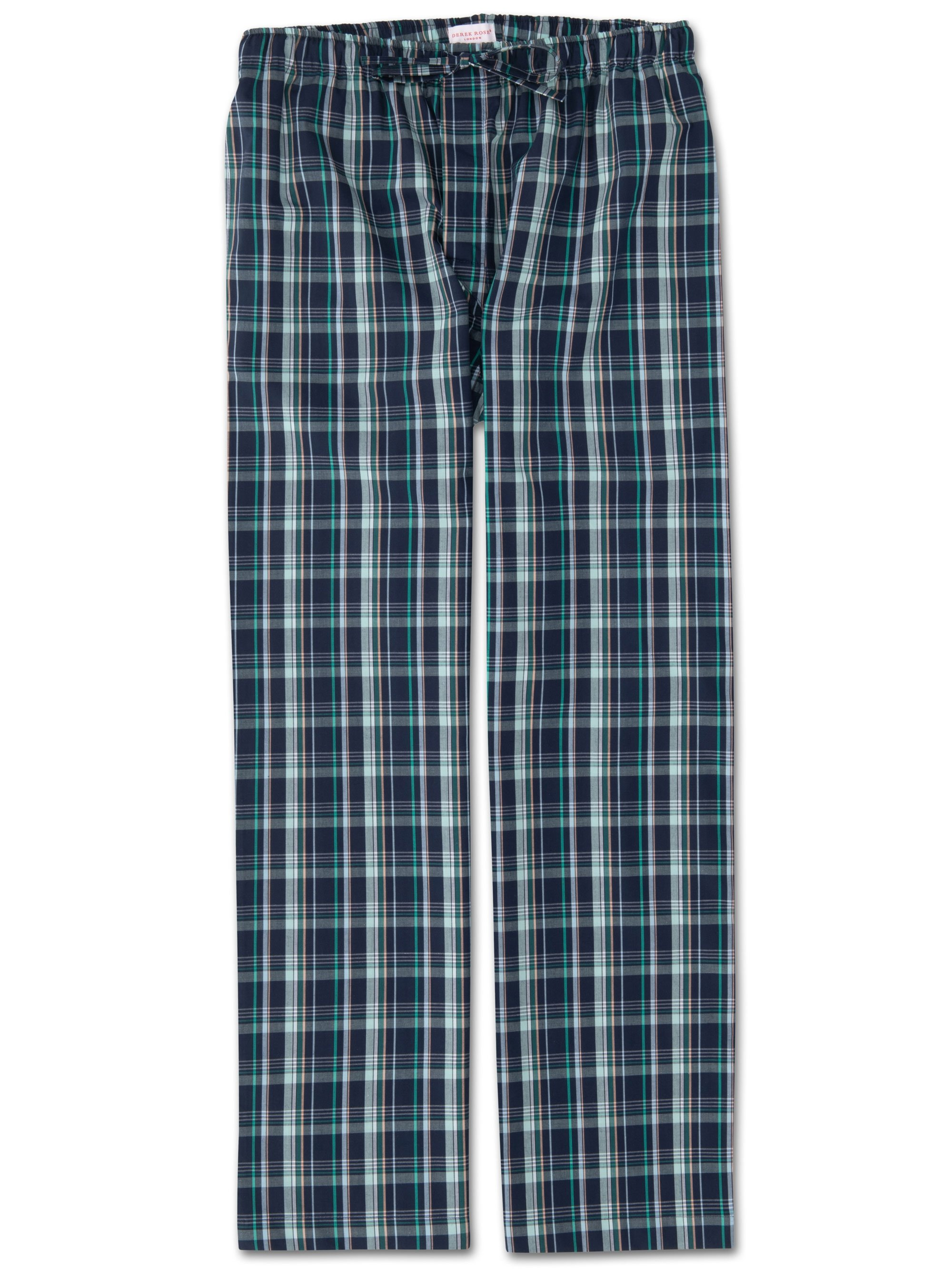 Men's Lounge Trousers Barker 21 Cotton Check Multi