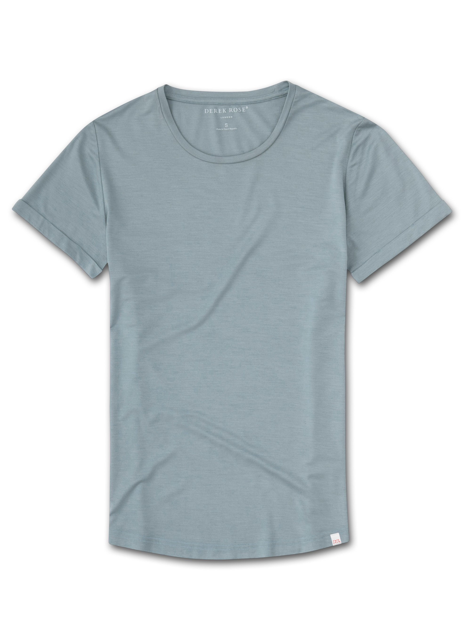 Women's Leisure T-Shirt Lara Micro Modal Stretch Blue