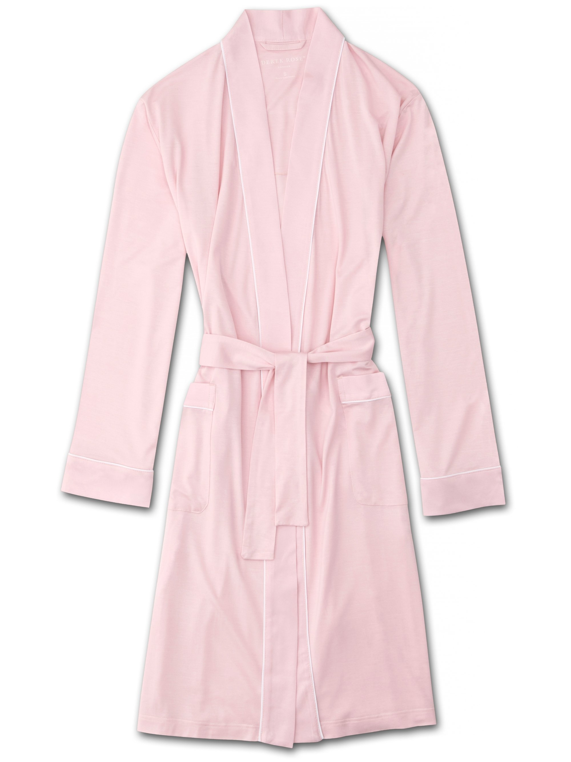 Women's Jersey Dressing Gown Lara Micro Modal Stretch Pink