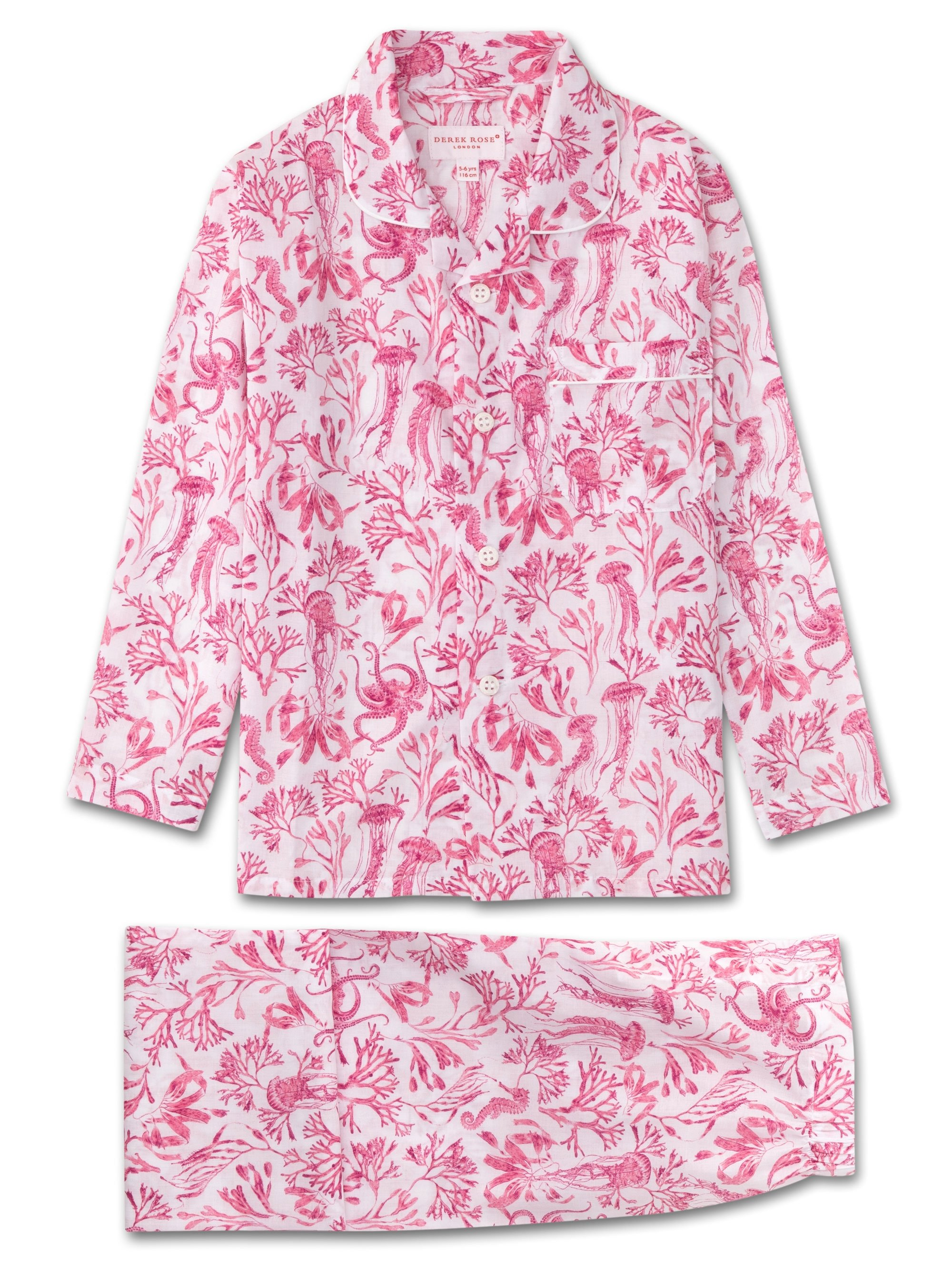 Kids' Pyjamas Ledbury 22 Cotton Batiste Pink