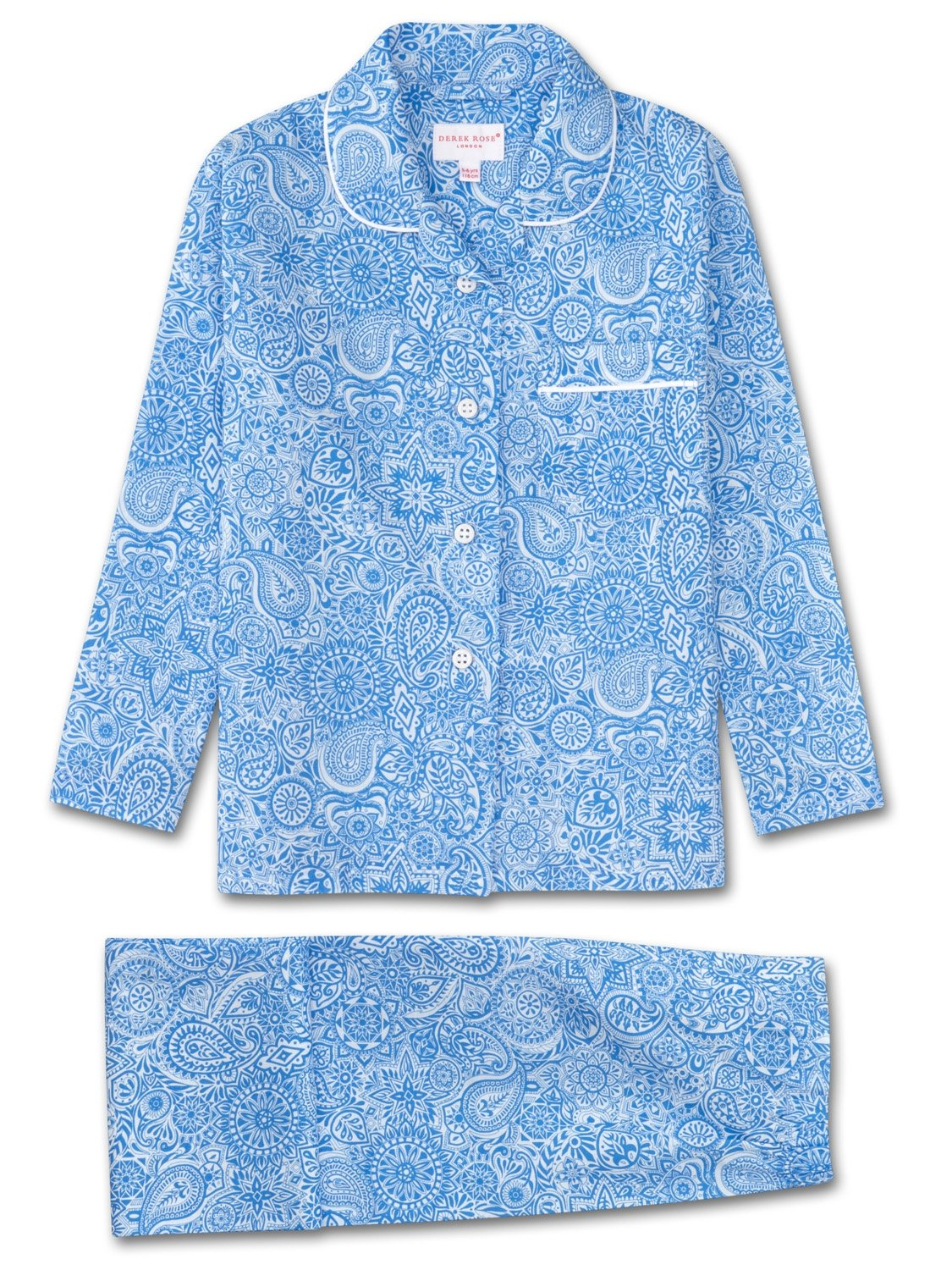 Girls' Pyjamas Ledbury 6 Cotton Batiste Blue