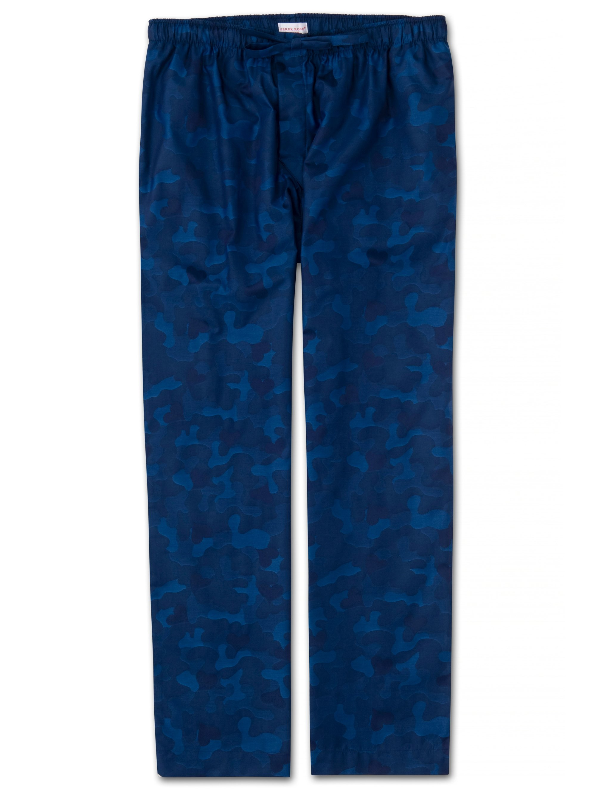 Men's Lounge Trousers Paris 18 Cotton Jacquard Navy