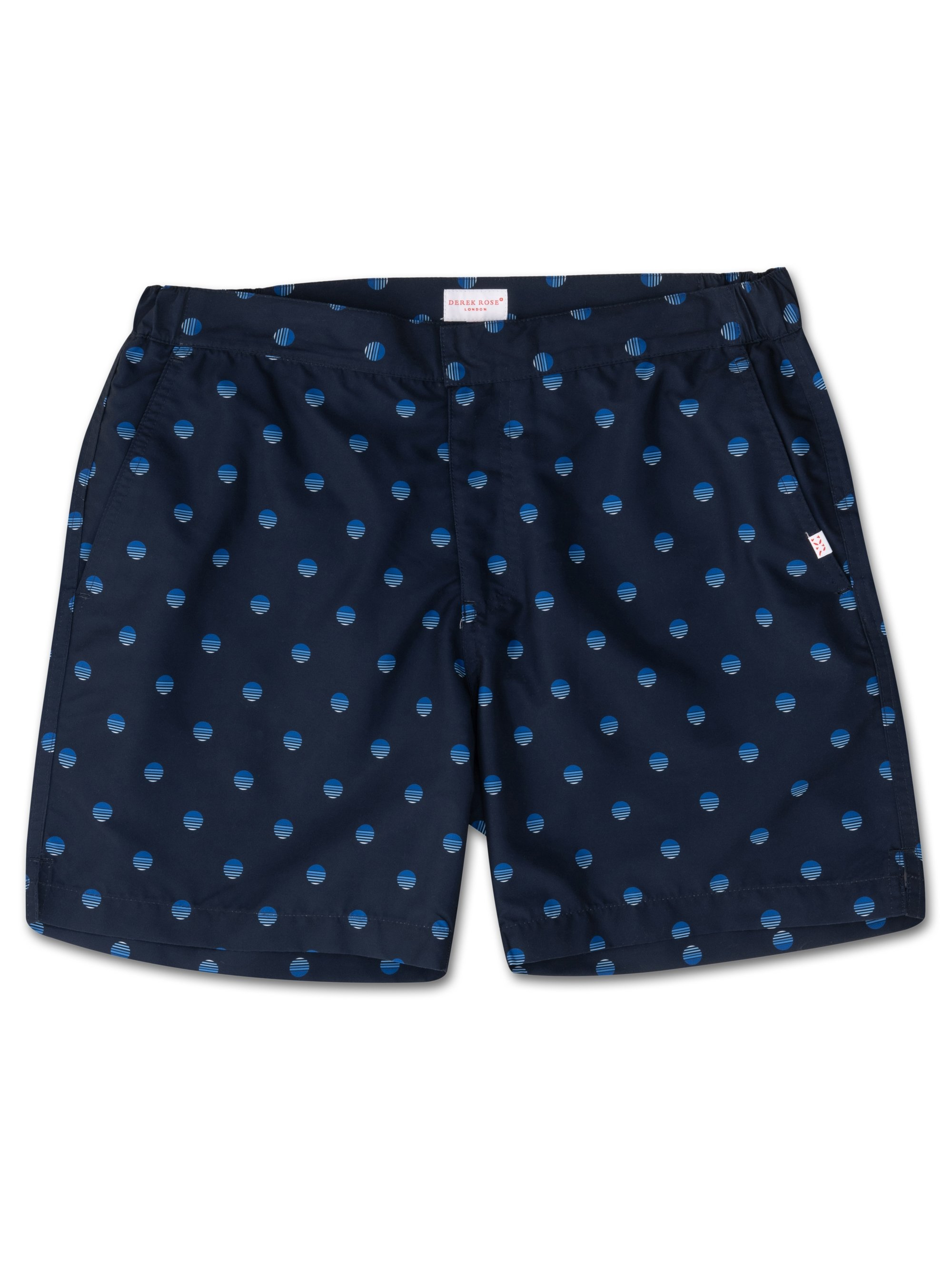 Men's Modern Fit Swim Shorts Tropez 5 Navy
