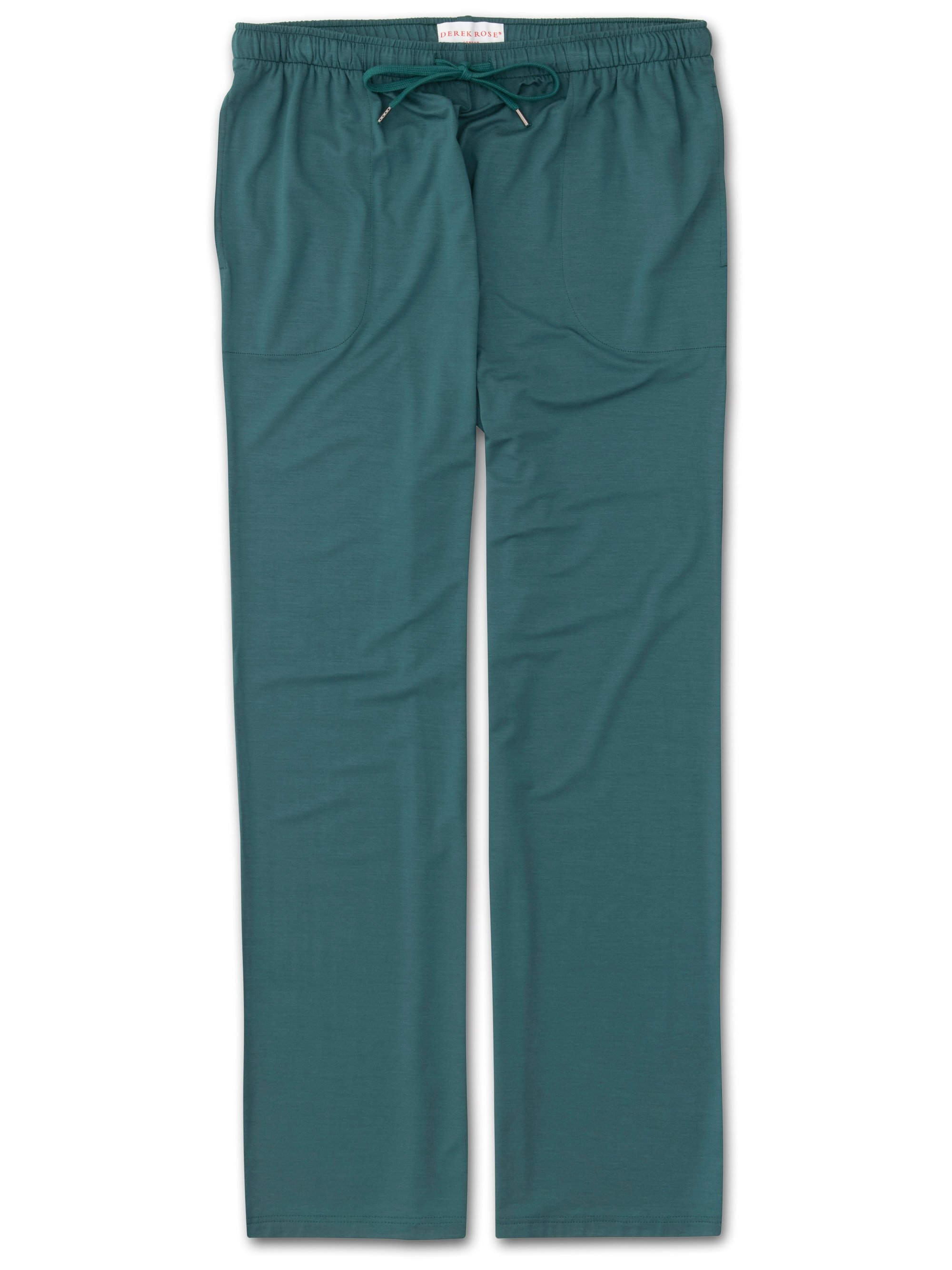 Men's Jersey Trousers Basel 8 Micro Modal Stretch Green