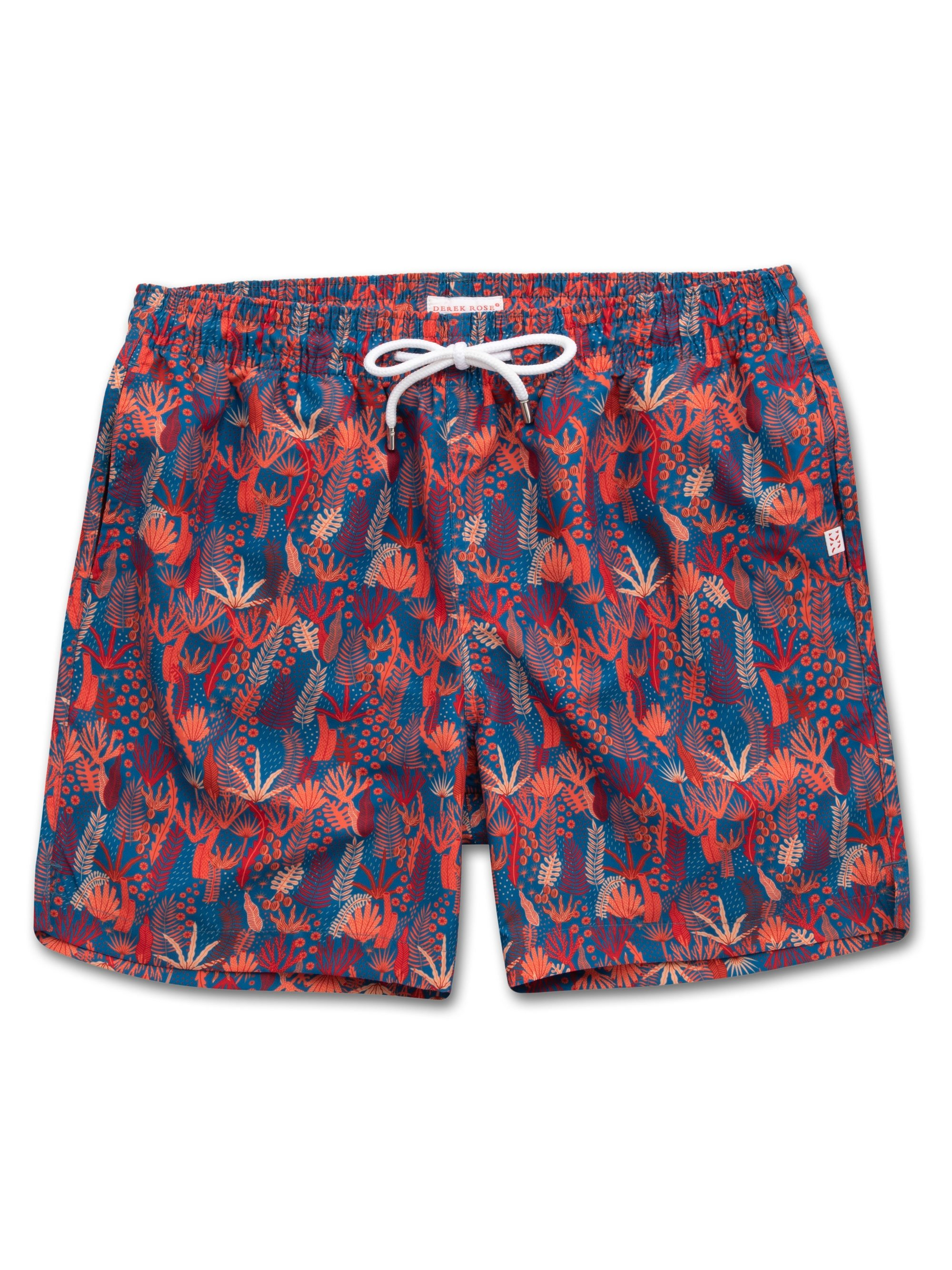 Men's Classic Fit Swim Shorts Maui 18 Ocean