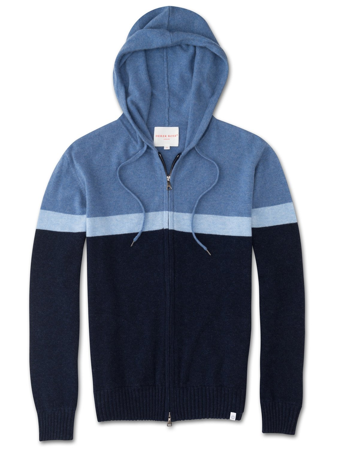 Men's Cashmere Hoodie Francis 2 Pure Cashmere Navy