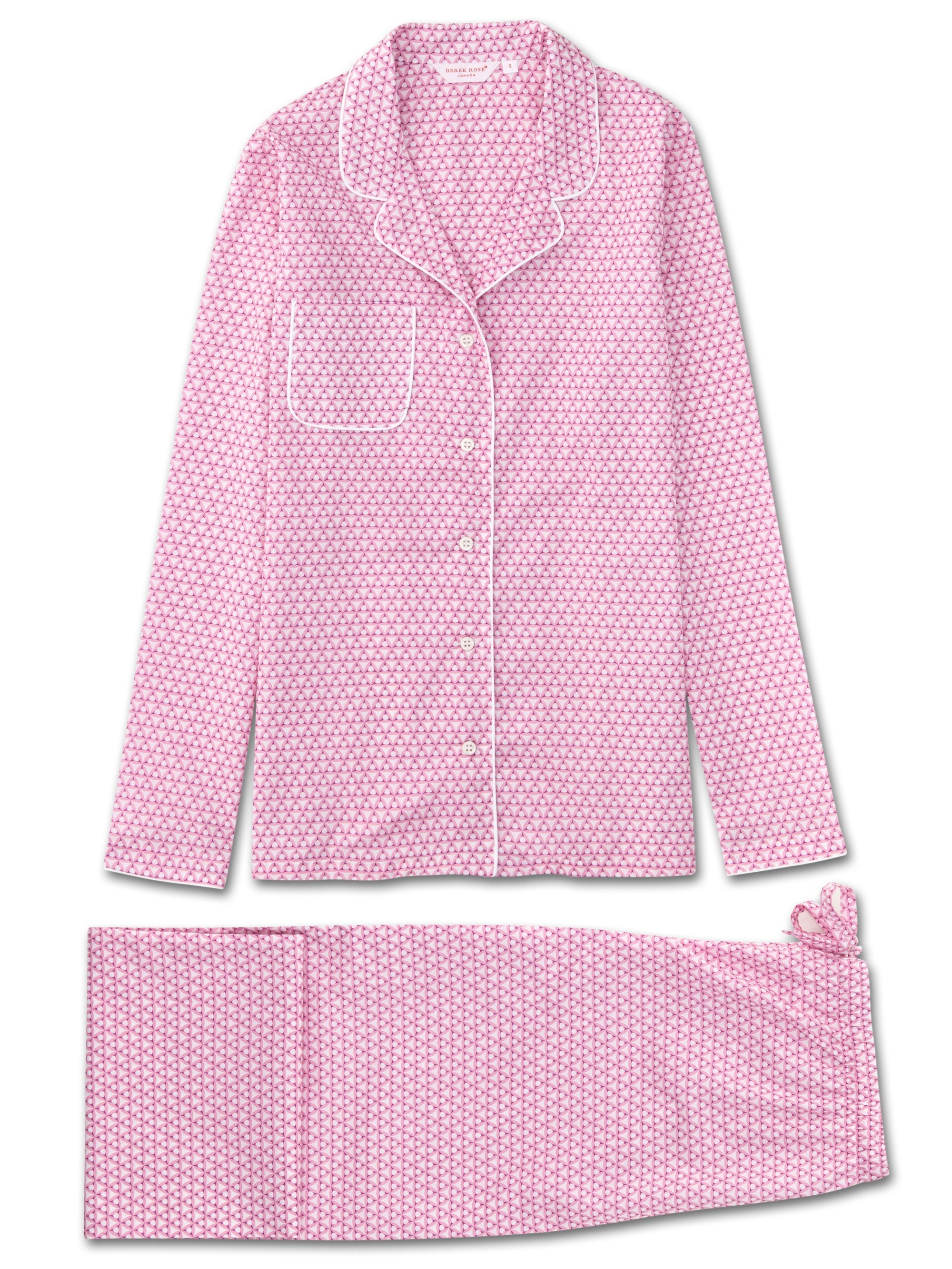 Women's Pyjamas Ledbury 27 Cotton Batiste Pink