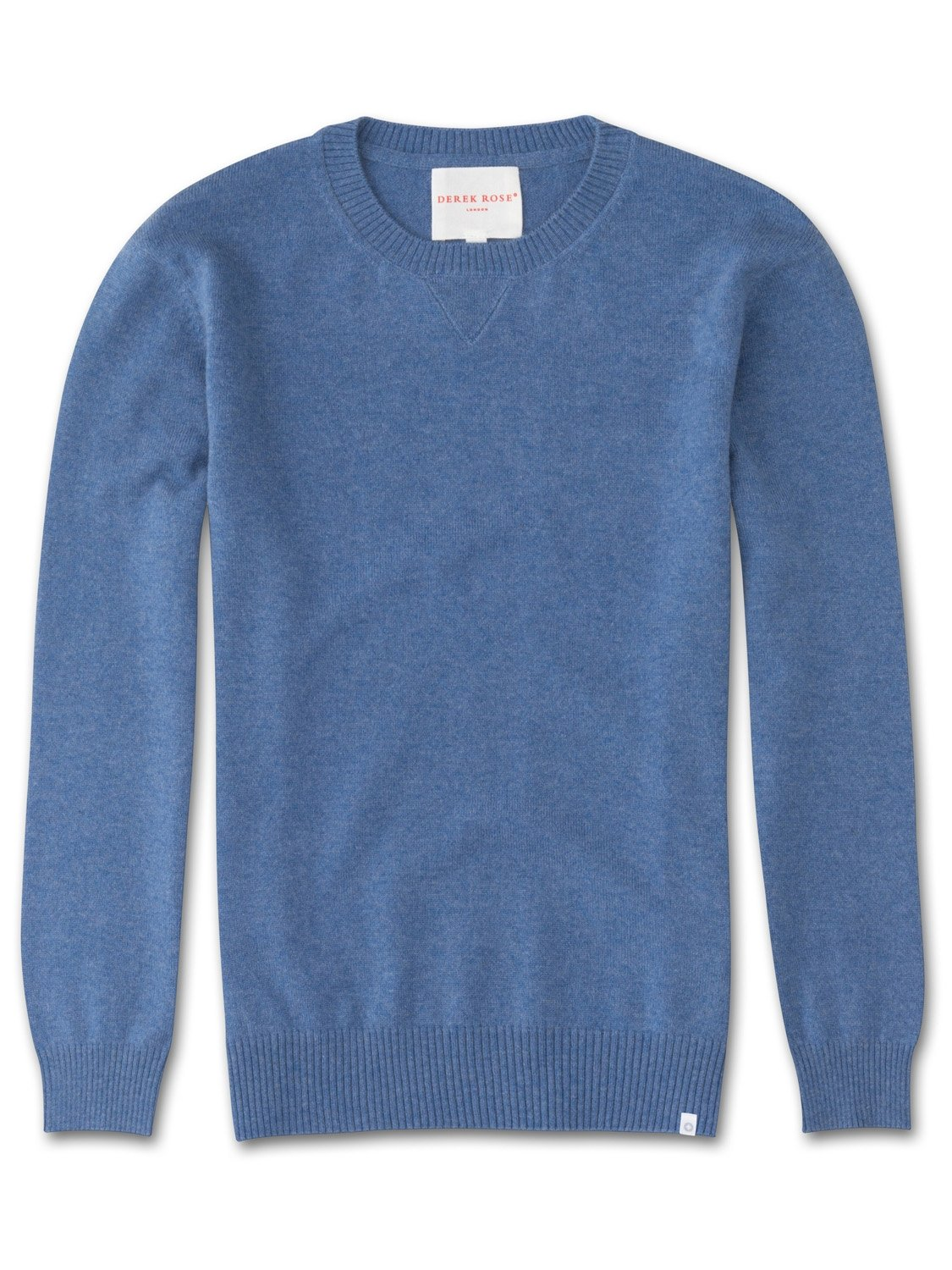 Women's Cashmere Sweater Finley 2 Pure Cashmere Blue