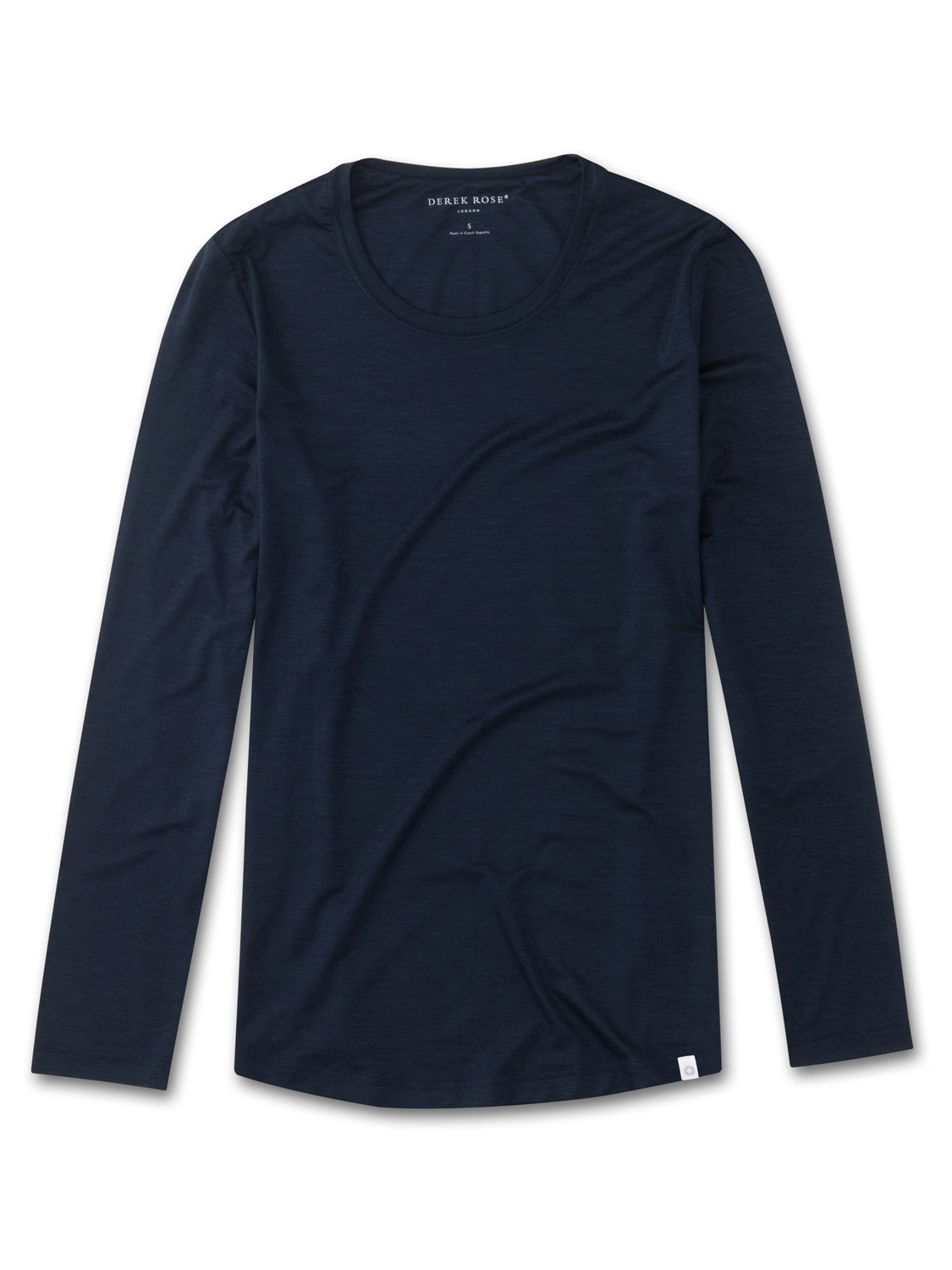 Women's Long Sleeve T-Shirt Carla Micro Modal Stretch Midnight
